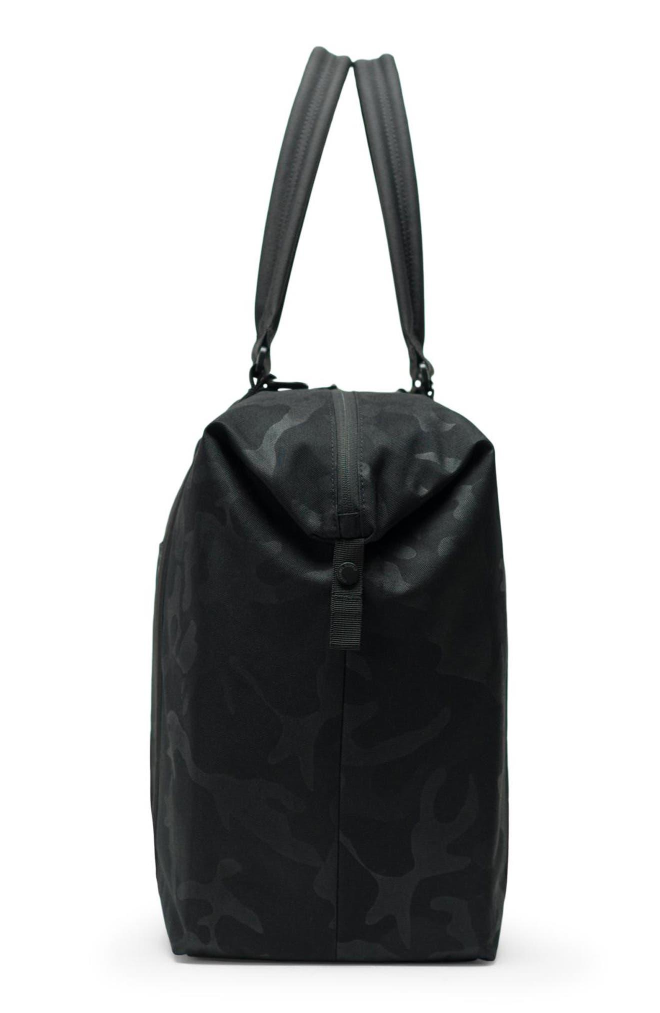 HERSCHEL SUPPLY CO., Strand XL Tote Bag, Alternate thumbnail 3, color, BLACK/ TONAL CAMO
