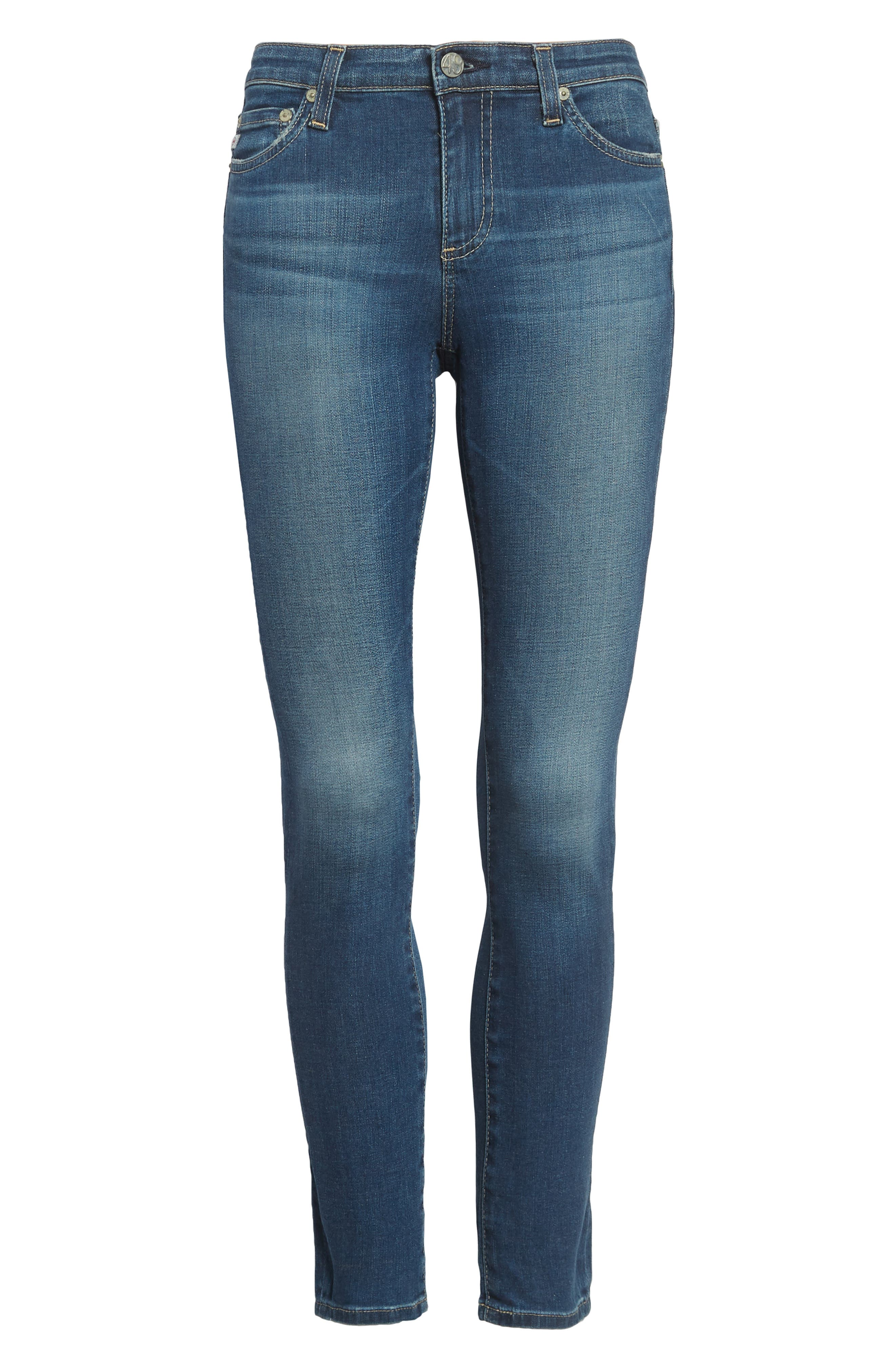 AG, 'The Legging' Ankle Jeans, Alternate thumbnail 2, color, 18 YEAR