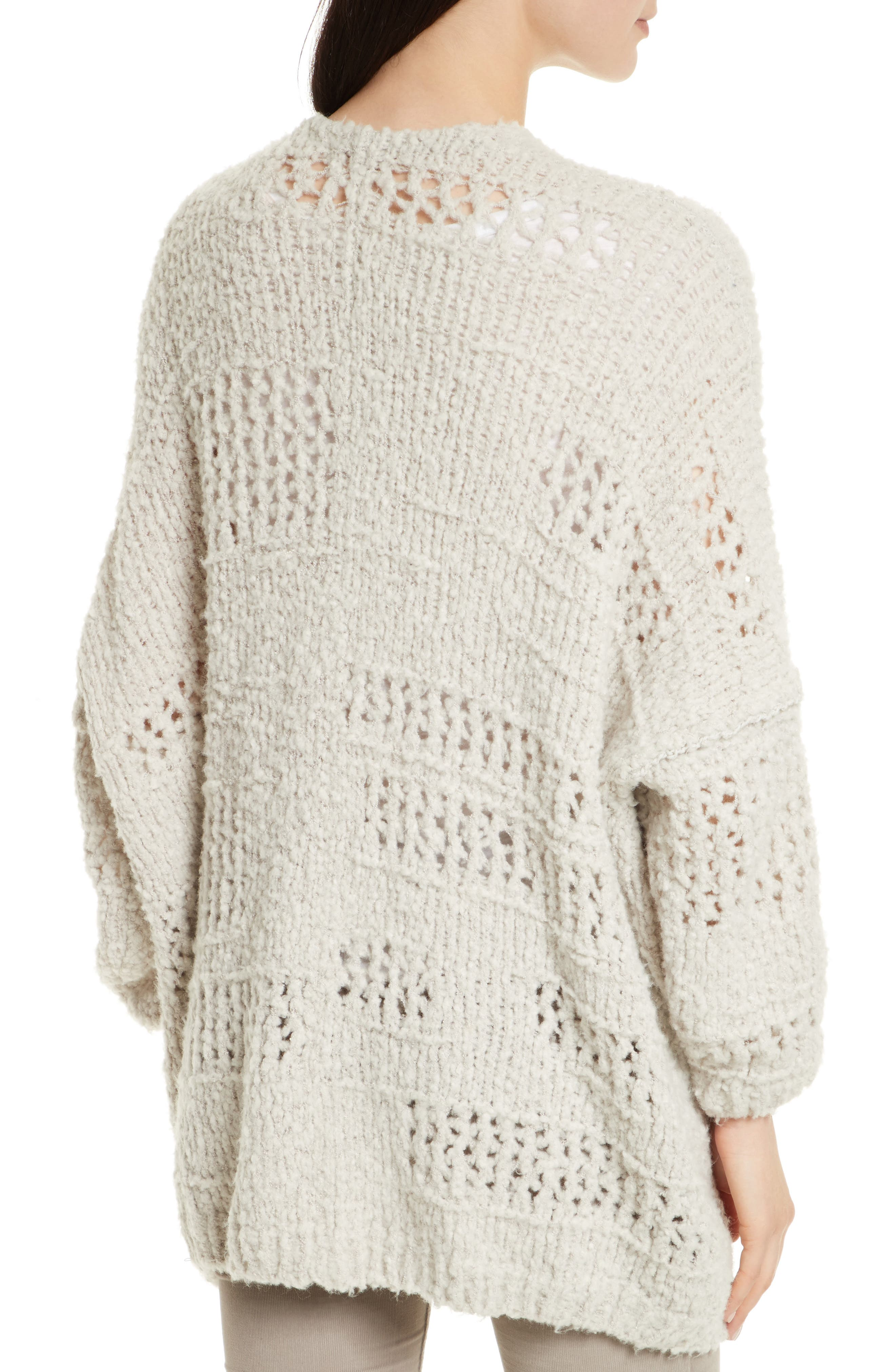 FREE PEOPLE, Saturday Morning Cardigan, Alternate thumbnail 2, color, 903