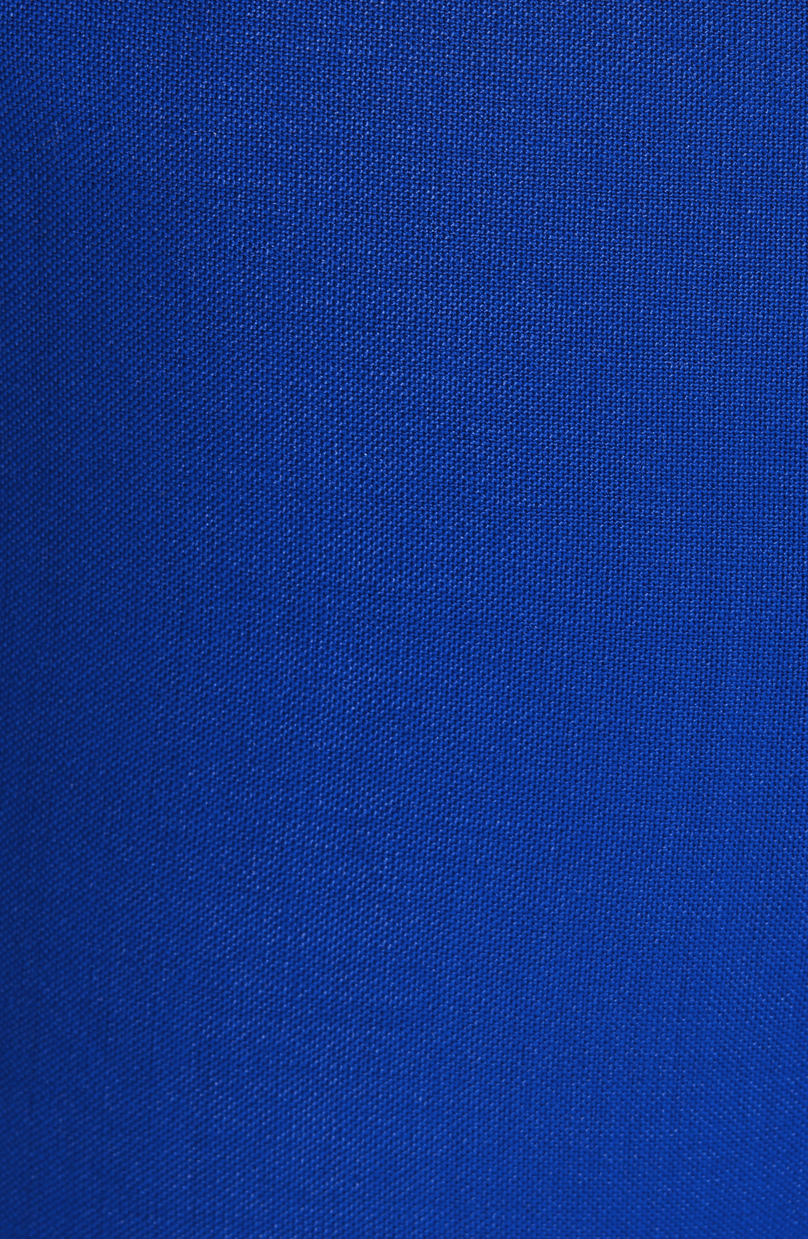 CALVIN KLEIN 205W39NYC, Side Stripe Mohair & Wool Straight Leg Pants, Alternate thumbnail 5, color, BRIGHT BLUE