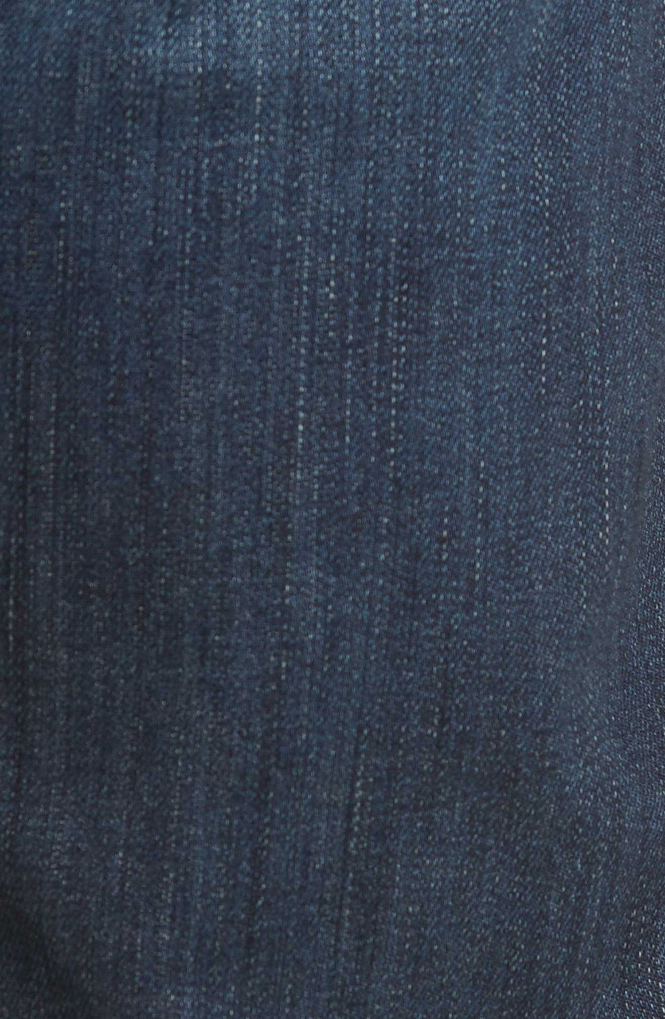 7 FOR ALL MANKIND<SUP>®</SUP>, Luxe Performance Standard Straight Leg Jeans, Alternate thumbnail 6, color, LUXE PERFORMANCE YELM