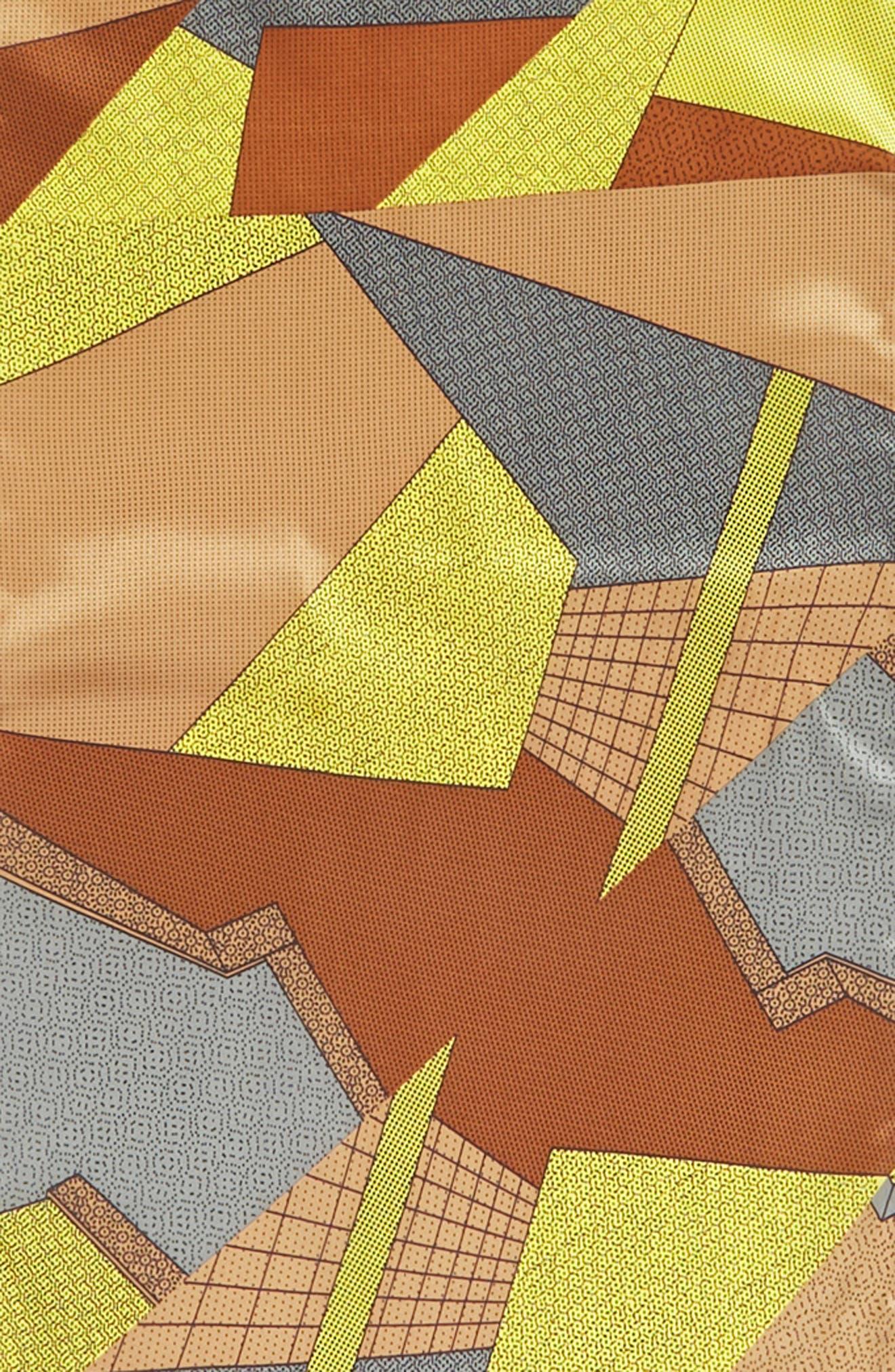 MEMPHIS GROUP, MEMPHIS Milano Print Silk Scarf, Alternate thumbnail 3, color, 700