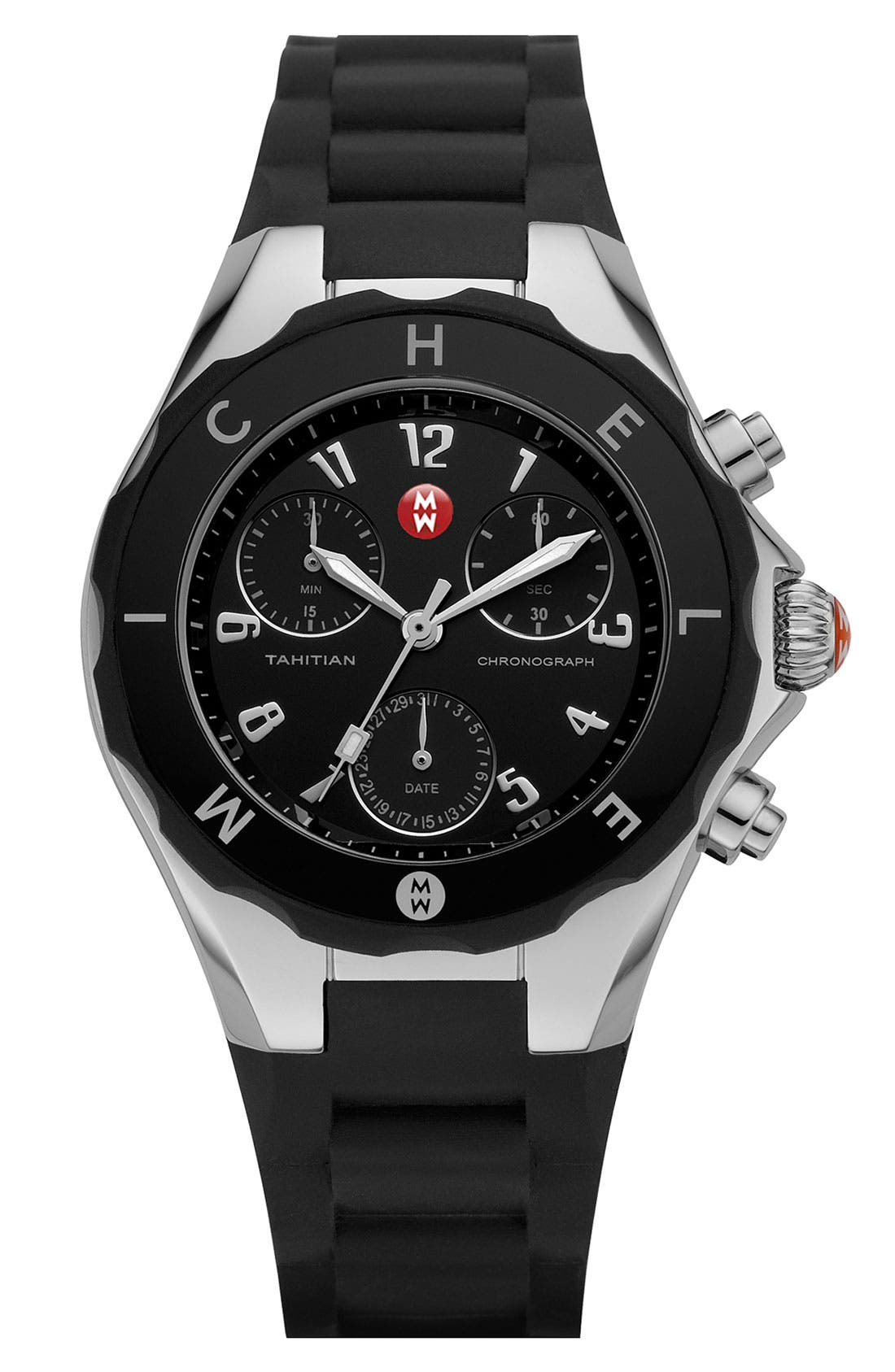 MICHELE, 'Tahitian Jelly Bean' Watch, 40mm, Main thumbnail 1, color, 001
