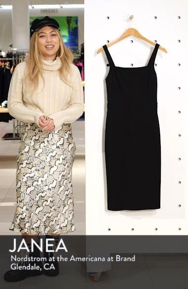 Wisteria Wandering Sheath Dress, sales video thumbnail