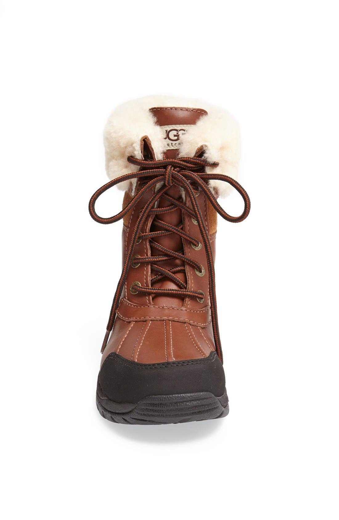 UGG<SUP>®</SUP>, Butte Waterproof Boot, Alternate thumbnail 3, color, WORCHESTER