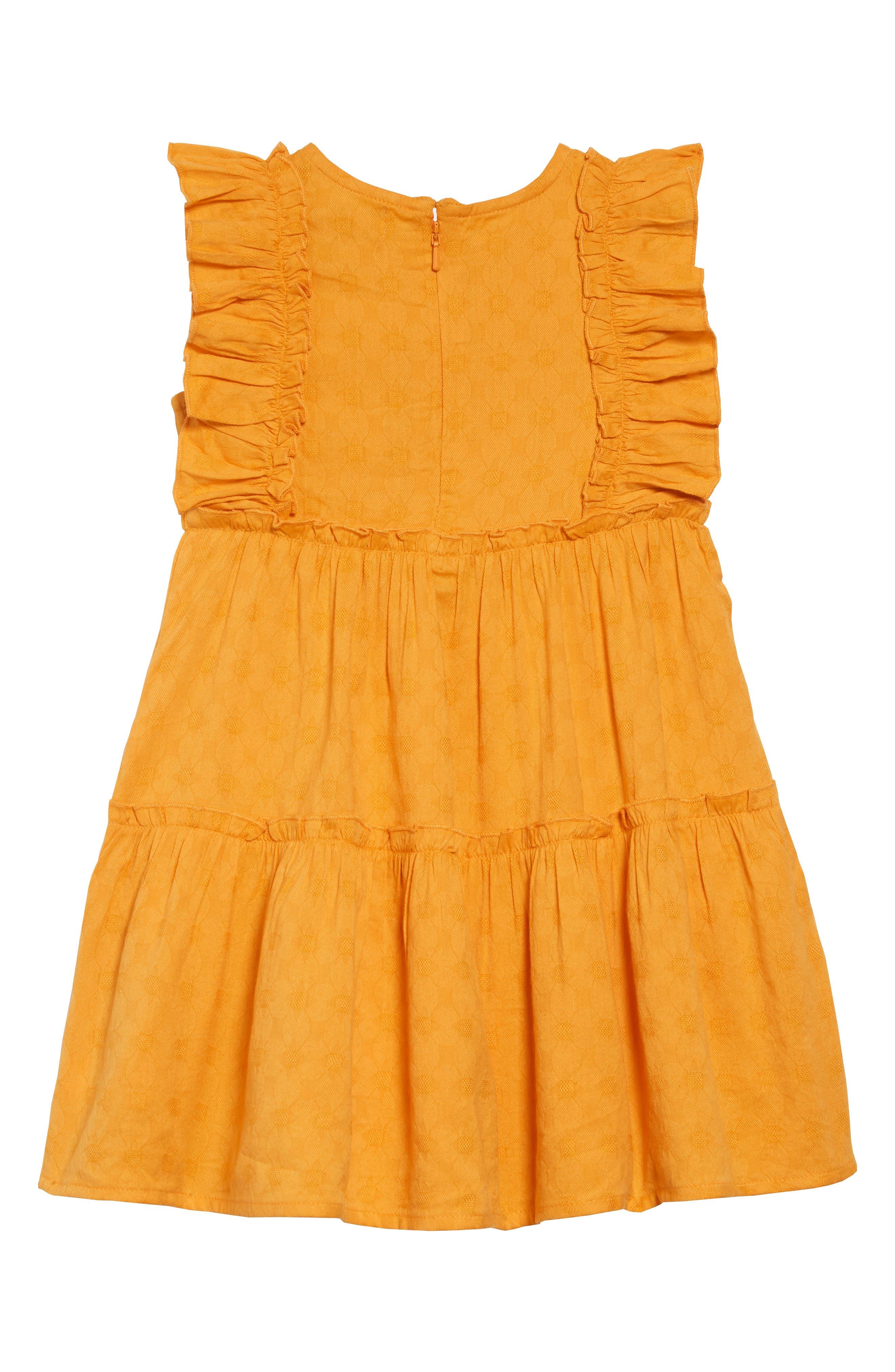 PEEK AREN'T YOU CURIOUS, Angelica Ruffle Dress, Alternate thumbnail 2, color, 700