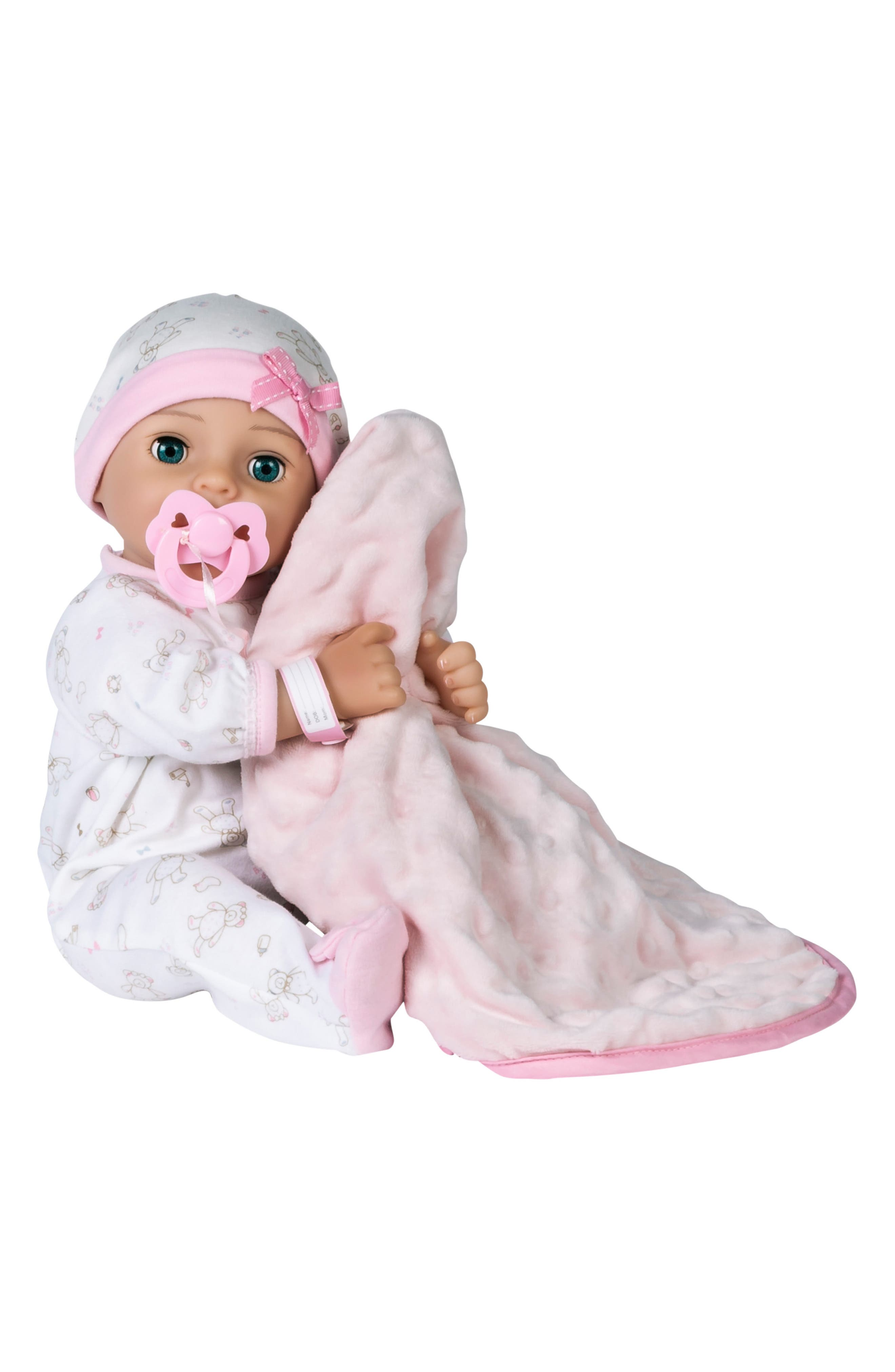 ADORA, Hope Baby Doll with Adoption Certificate, Main thumbnail 1, color, HOPE