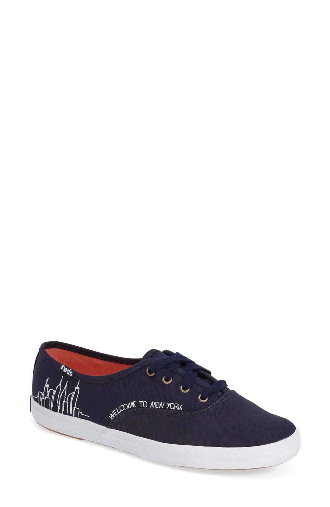 KEDS<SUP>®</SUP>, Taylor Swift 'Champion - NYC' Sneaker, Main thumbnail 1, color, 400
