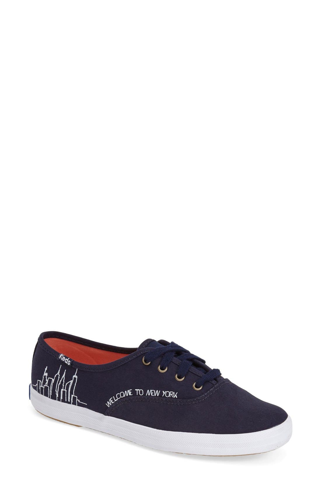 KEDS<SUP>®</SUP> Taylor Swift 'Champion - NYC' Sneaker, Main, color, 400