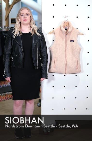 Los Gatos Fleece Vest, sales video thumbnail