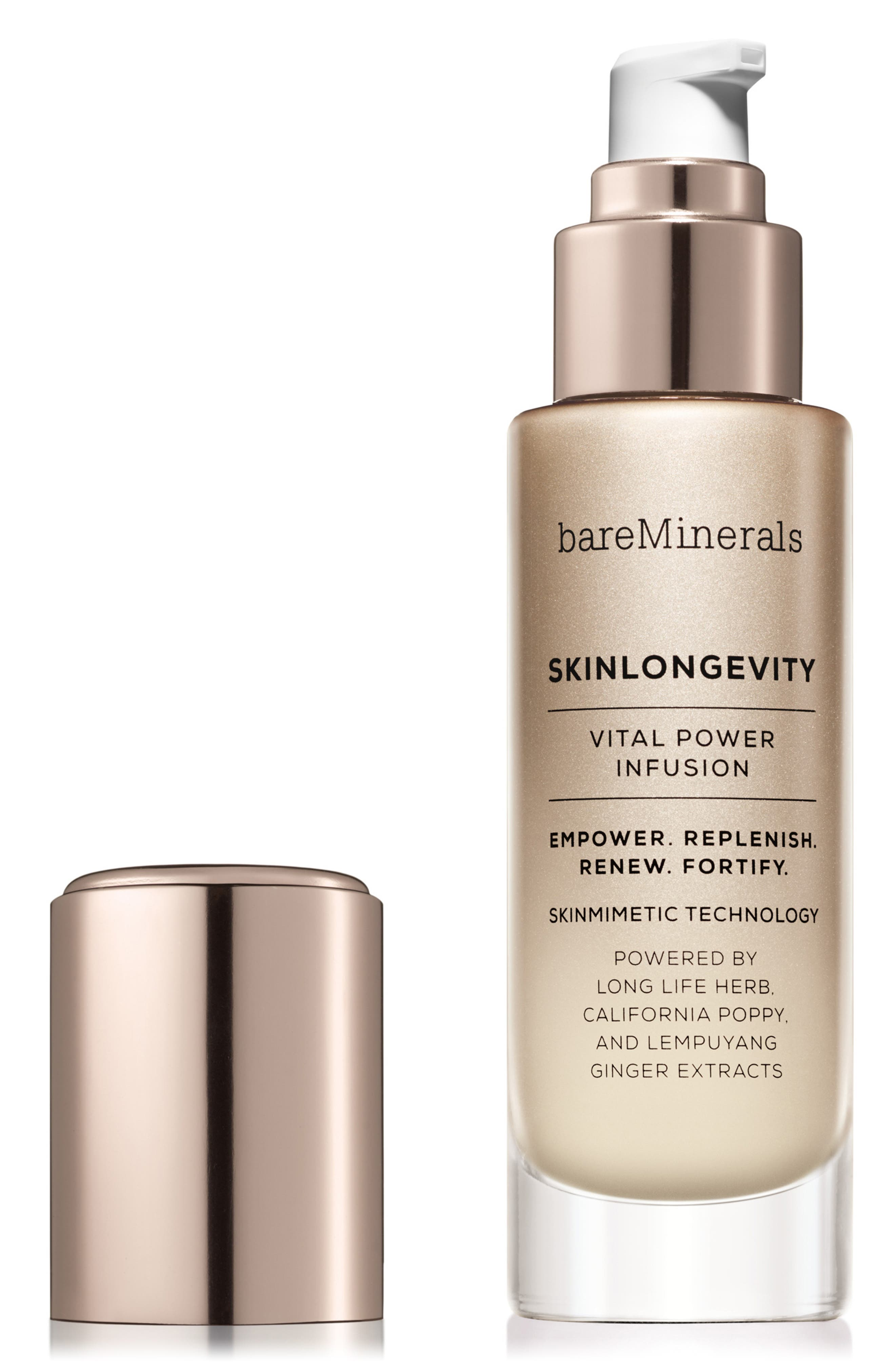 BAREMINERALS<SUP>®</SUP>, SKINLONGEVITY<sup>™</sup> Vital Power Infusion Serum, Alternate thumbnail 2, color, NO COLOR