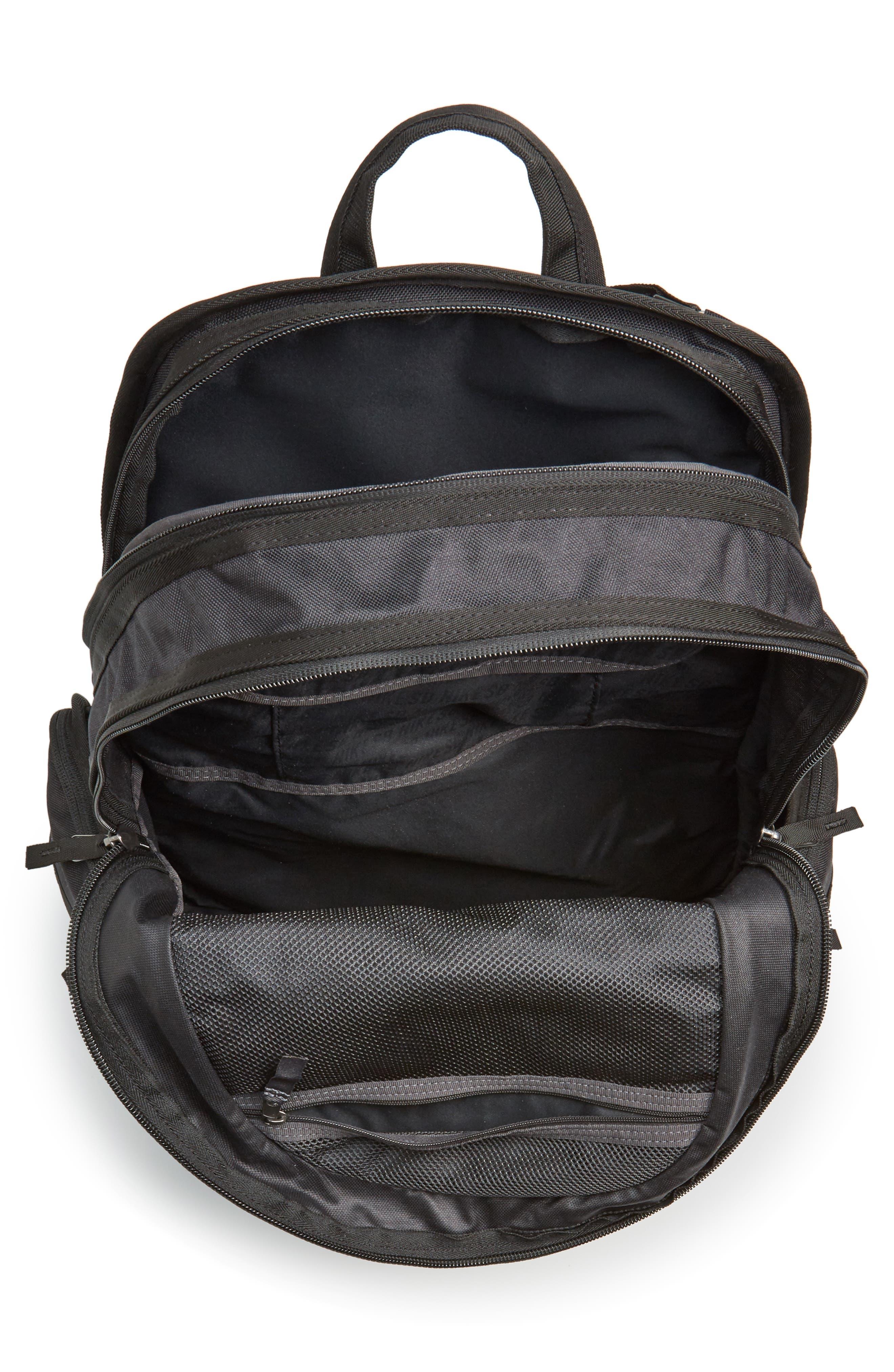 NIKE SB, RPM Backpack, Alternate thumbnail 5, color, BLACK/ BLACK/ BLACK