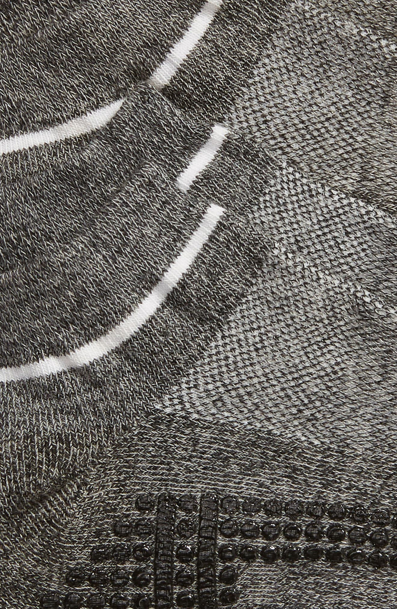 ZELLA, 2-Pack Barre Socks, Alternate thumbnail 2, color, GREY MARL