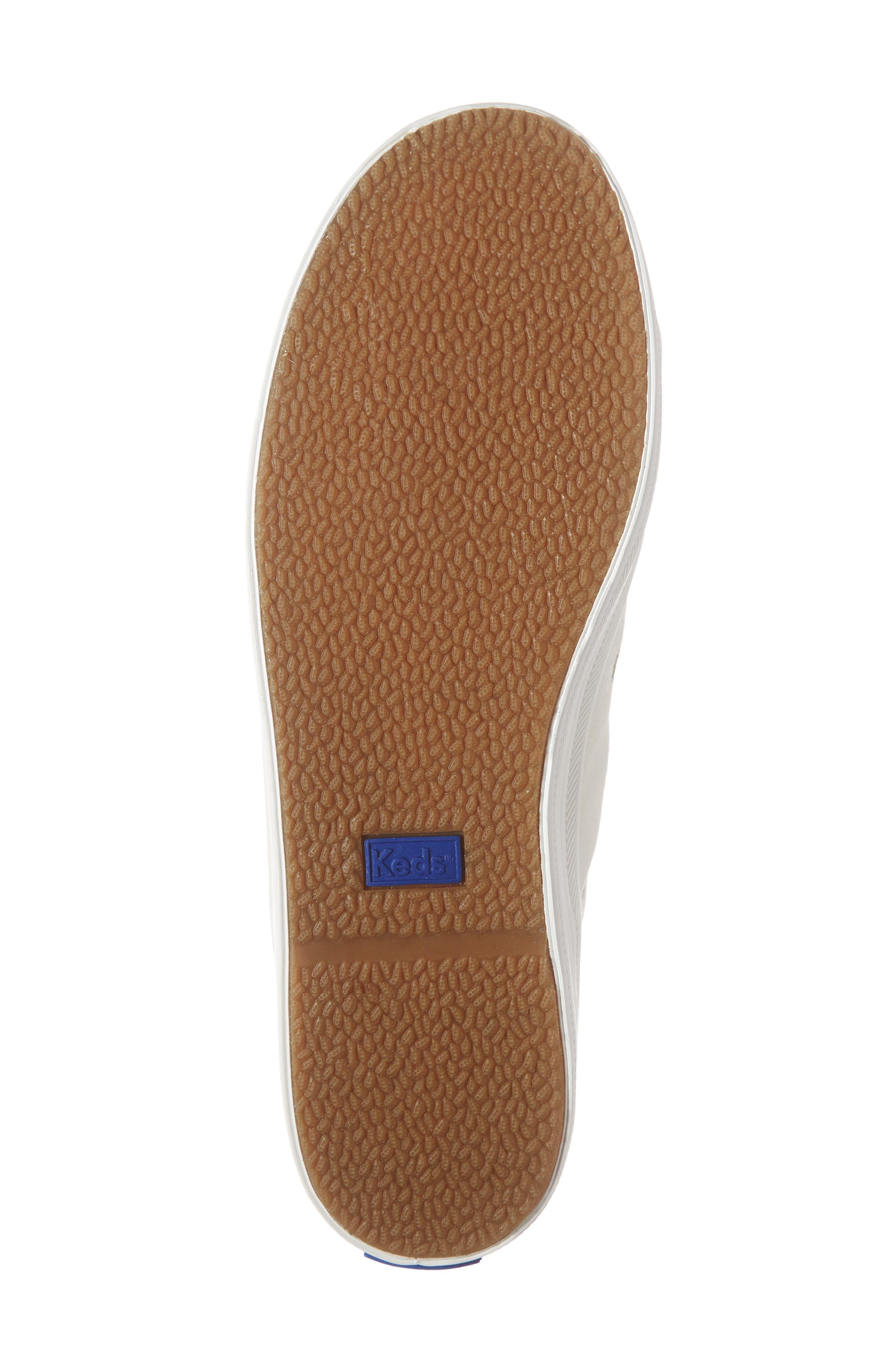 KEDS<SUP>®</SUP>, x Rifle Paper Co. Kickstart Butterfly Sneaker, Alternate thumbnail 6, color, CREAM