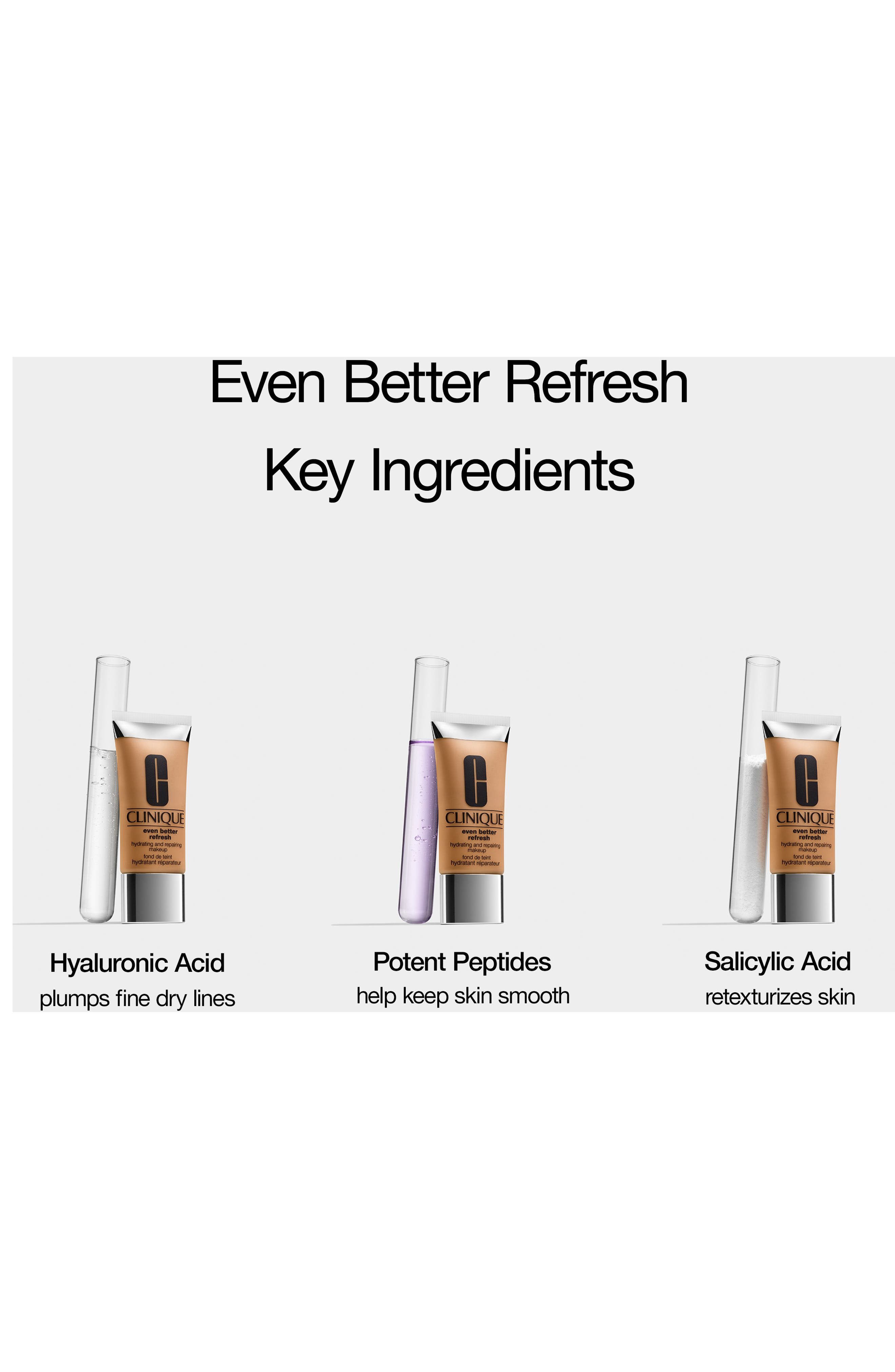 CLINIQUE, Even Better Refresh Hydrating and Repairing Makeup, Alternate thumbnail 4, color, .75 CUSTARD
