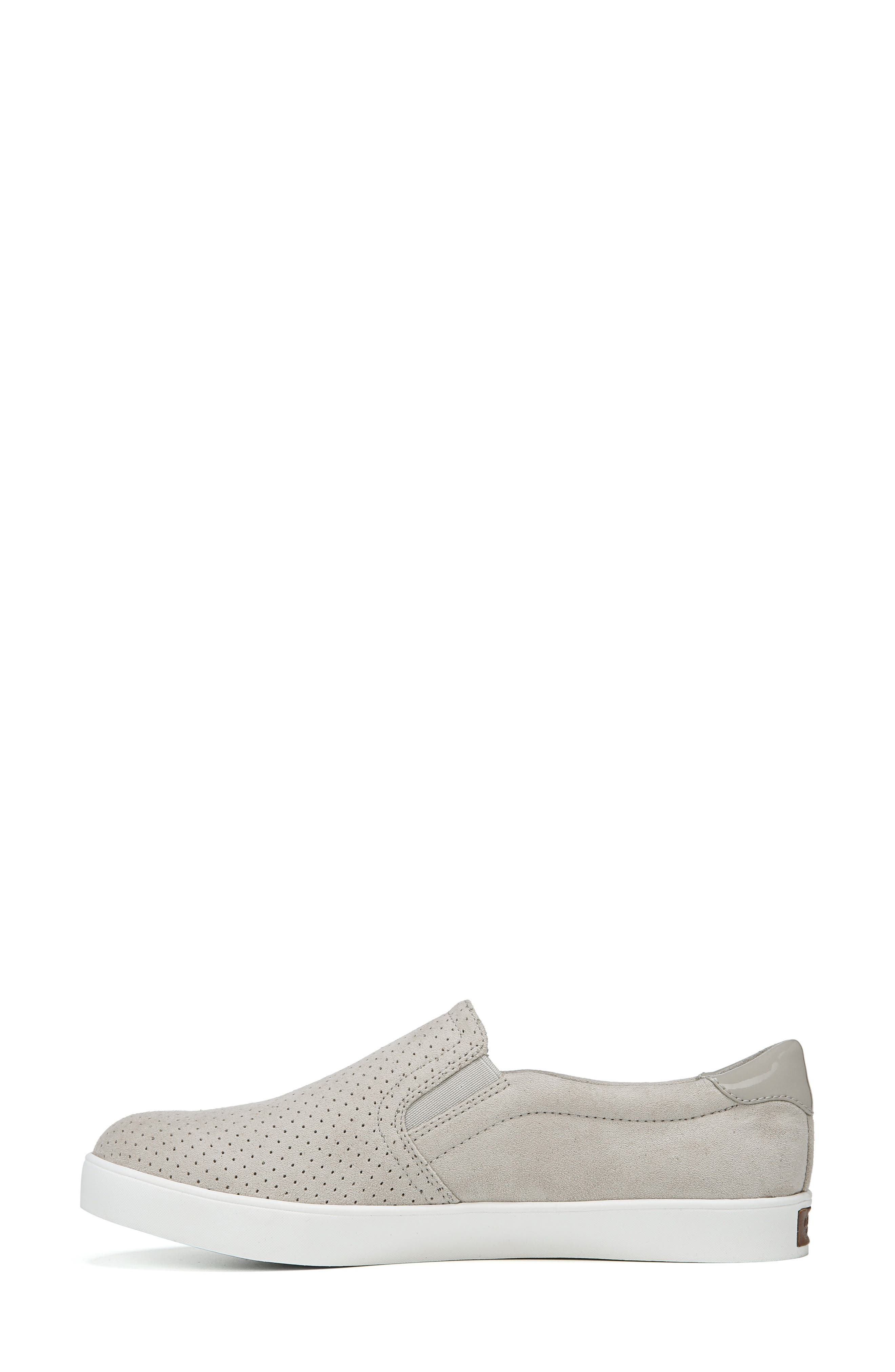 DR. SCHOLL'S, Madison Slip-On Sneaker, Alternate thumbnail 2, color, GREY PERFORATED FABRIC