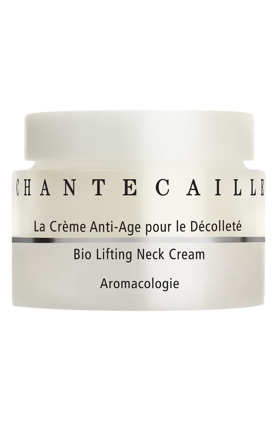 CHANTECAILLE, Bio Lifting Neck Cream, Alternate thumbnail 2, color, NO COLOR