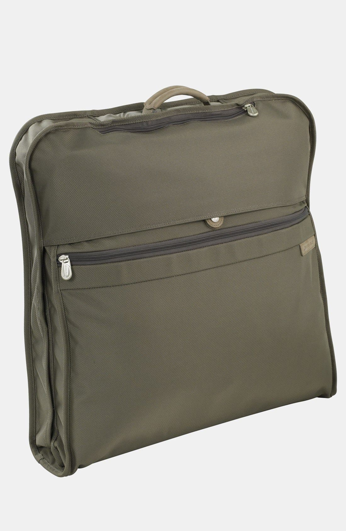 BRIGGS & RILEY Baseline - Classic Garment Cover, Main, color, OLIVE