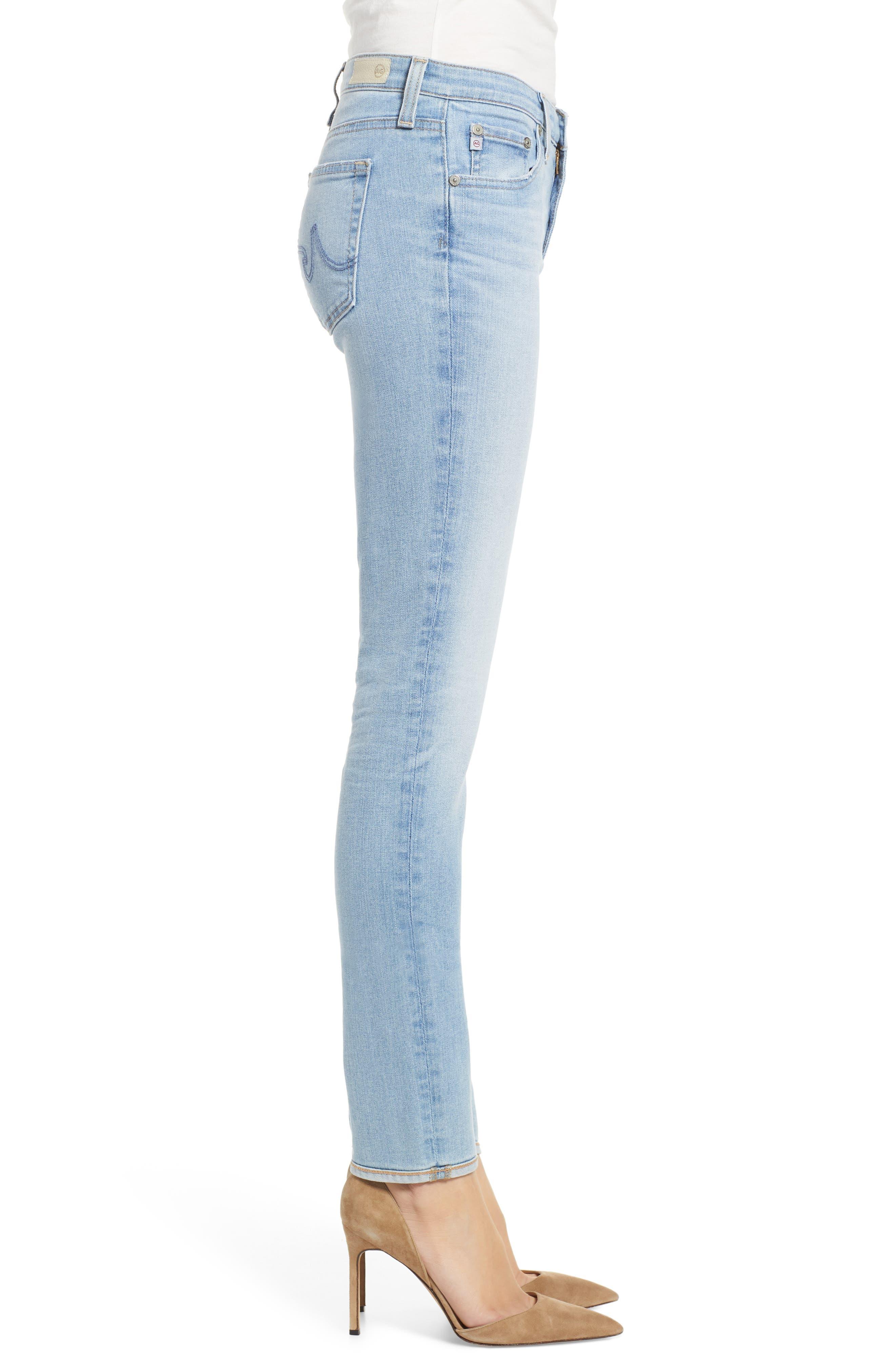 AG, Prima Ankle Cigarette Jeans, Alternate thumbnail 4, color, 27Y AVERSIONS