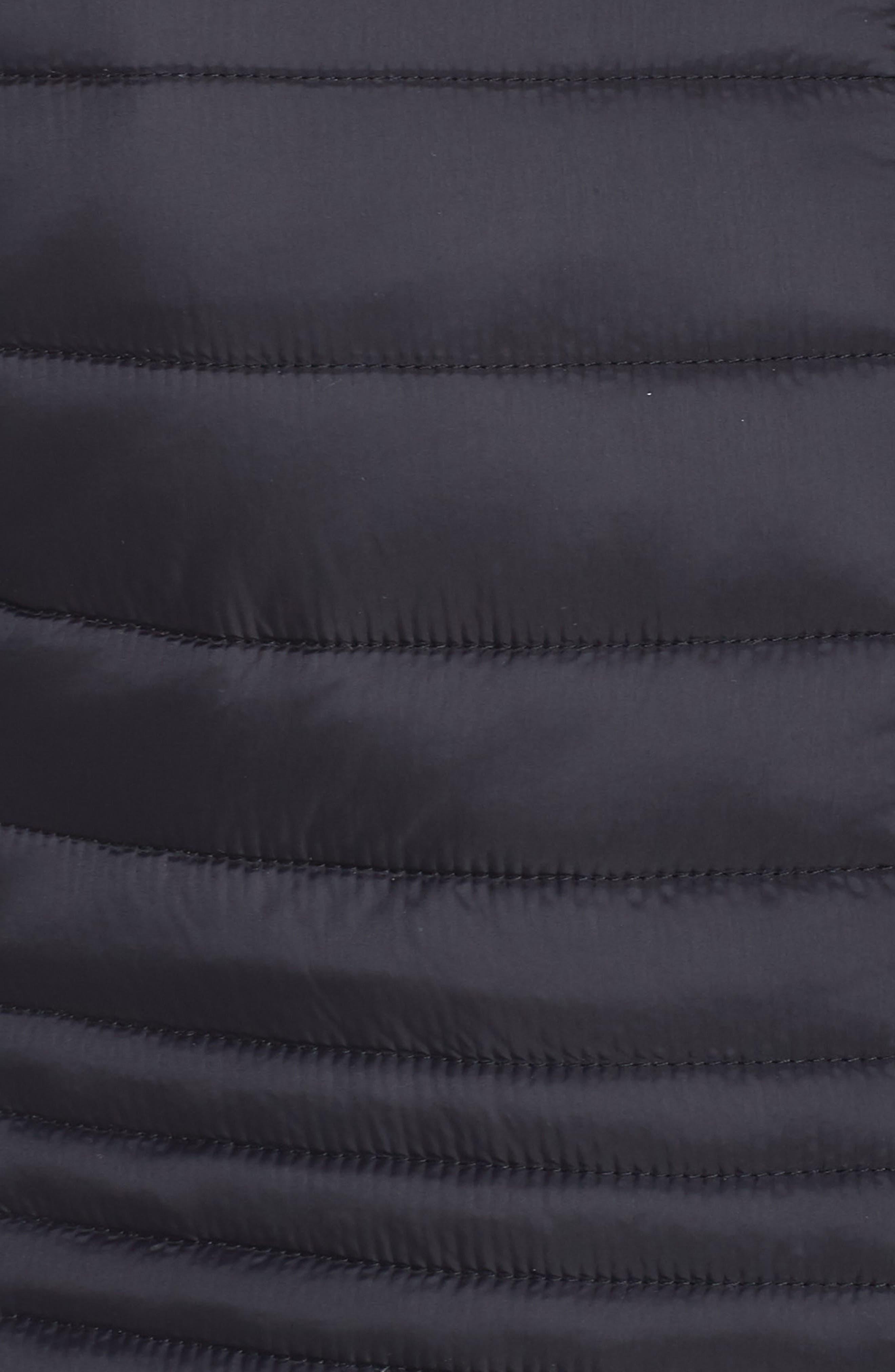 ZELLA, City Dweller Water Resistant Puffer Jacket, Alternate thumbnail 7, color, 001