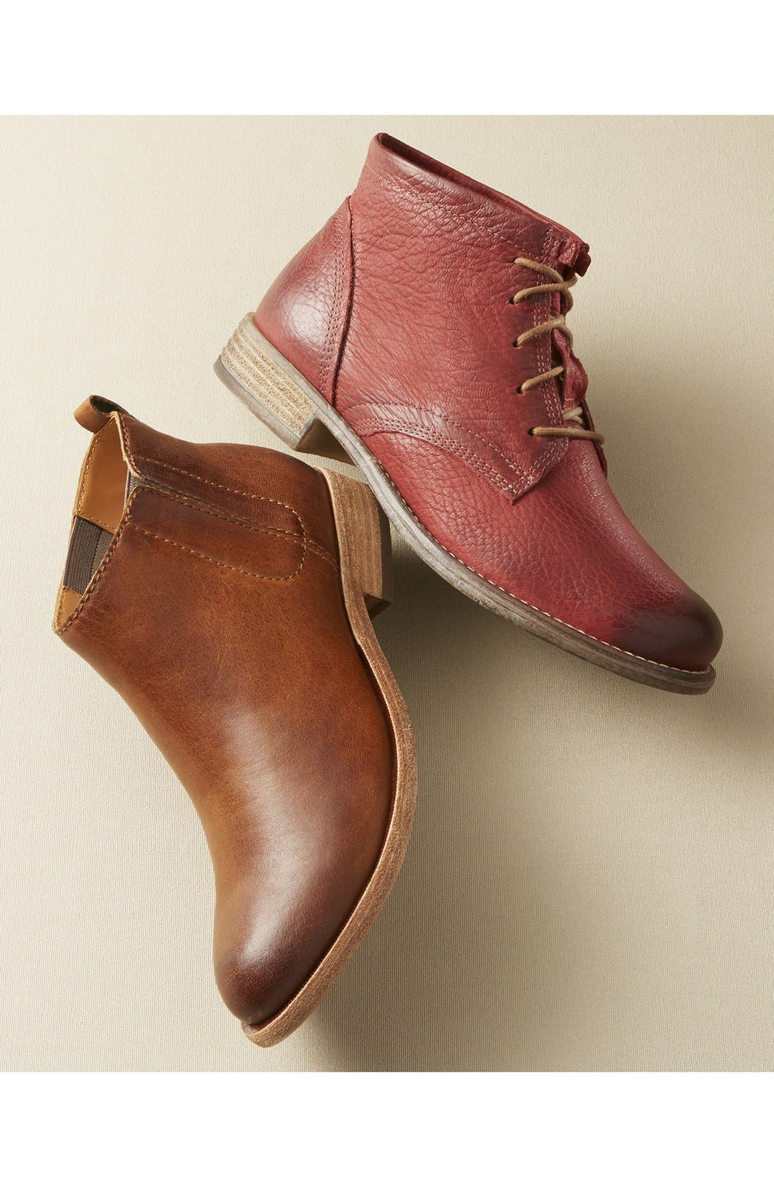 KORK-EASE<SUP>®</SUP>, Velma Bootie, Alternate thumbnail 7, color, DARK BROWN LEATHER
