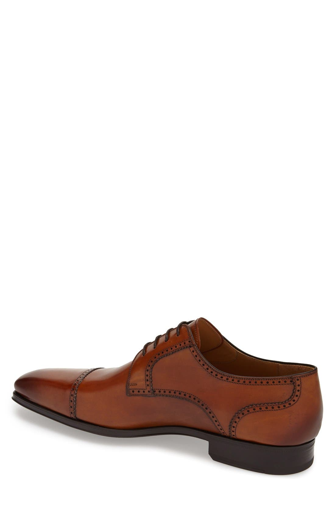 MAGNANNI, 'Carlito' Cap Toe Derby, Alternate thumbnail 2, color, 219