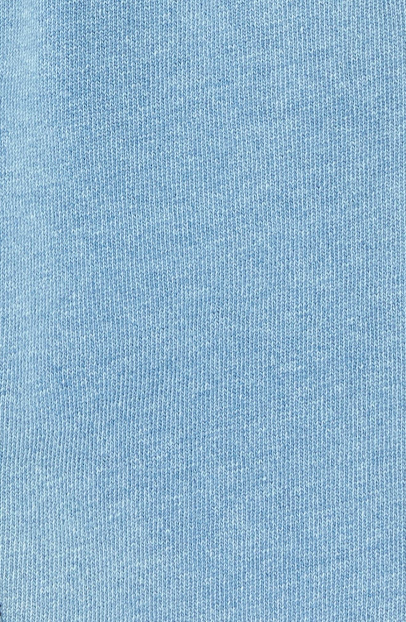 TUCKER + TATE, Knit Denim Pants, Alternate thumbnail 2, color, BLUE INDIGO