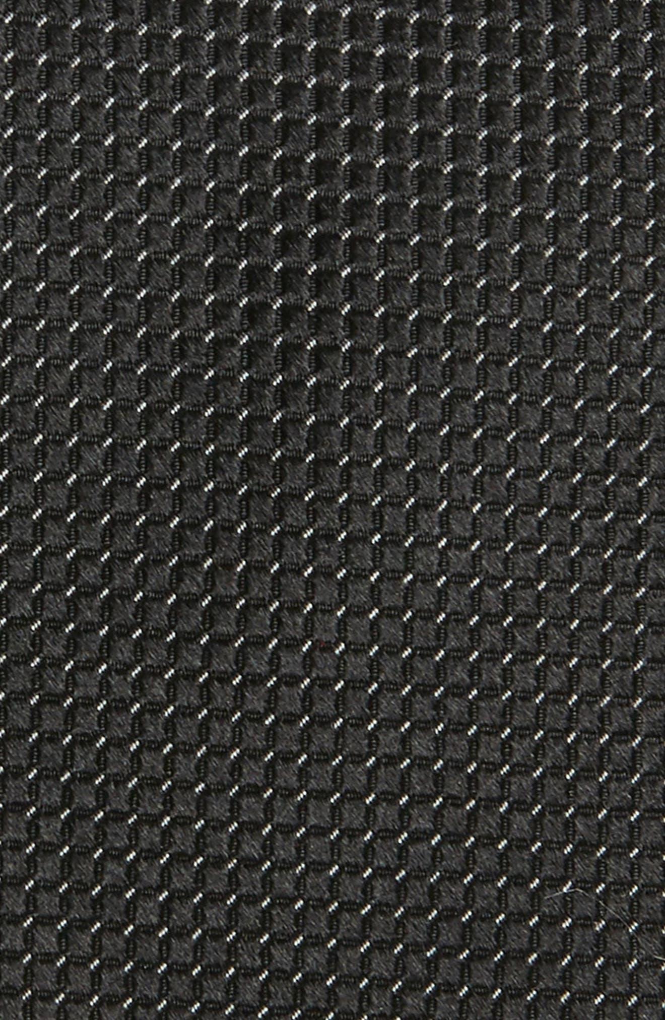 TED BAKER LONDON, Solid Silk Tie, Alternate thumbnail 2, color, BLACK