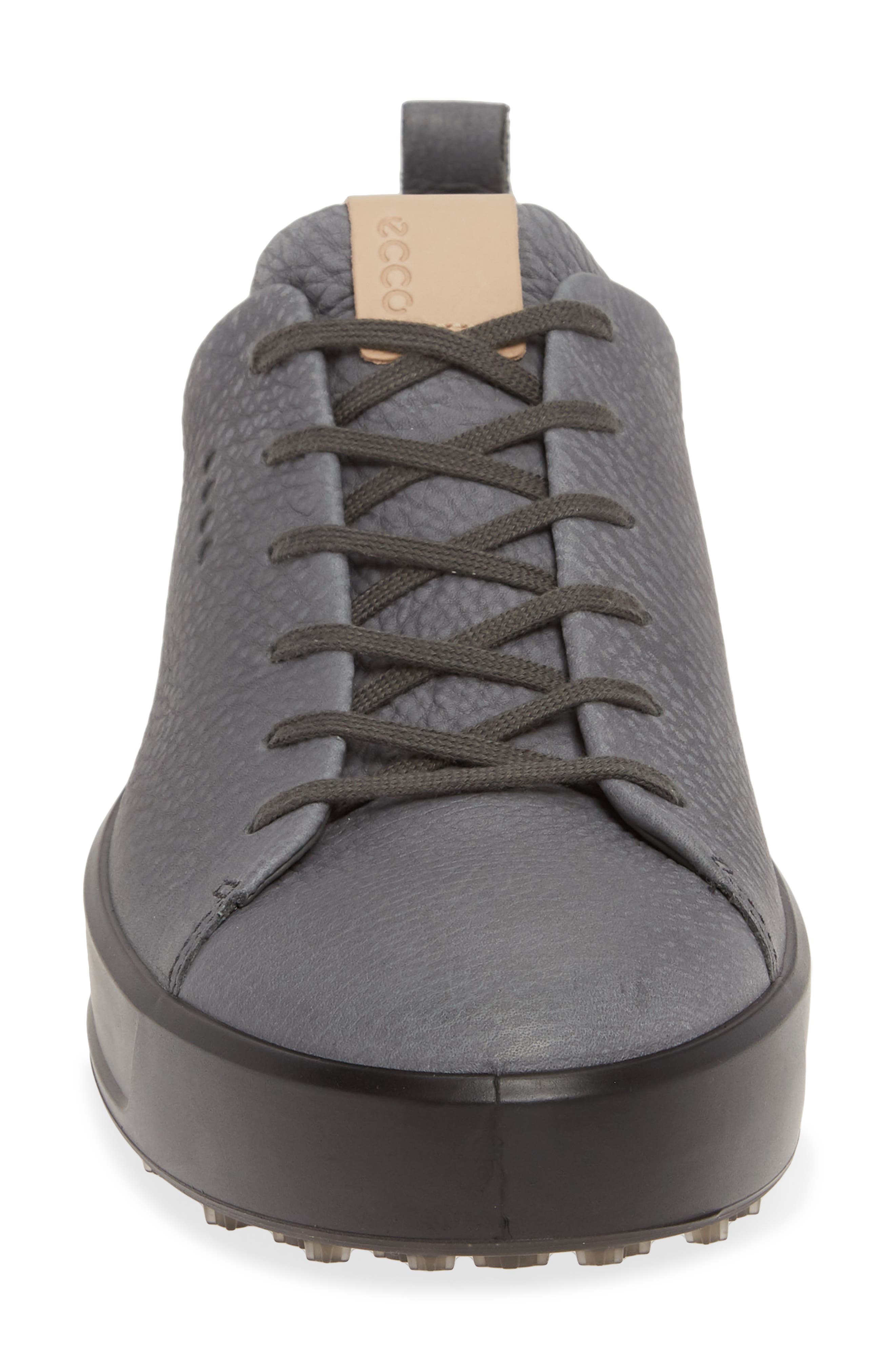 ECCO, Hydromax<sup>®</sup> Golf Shoe, Alternate thumbnail 4, color, DARK SHADOW LEATHER