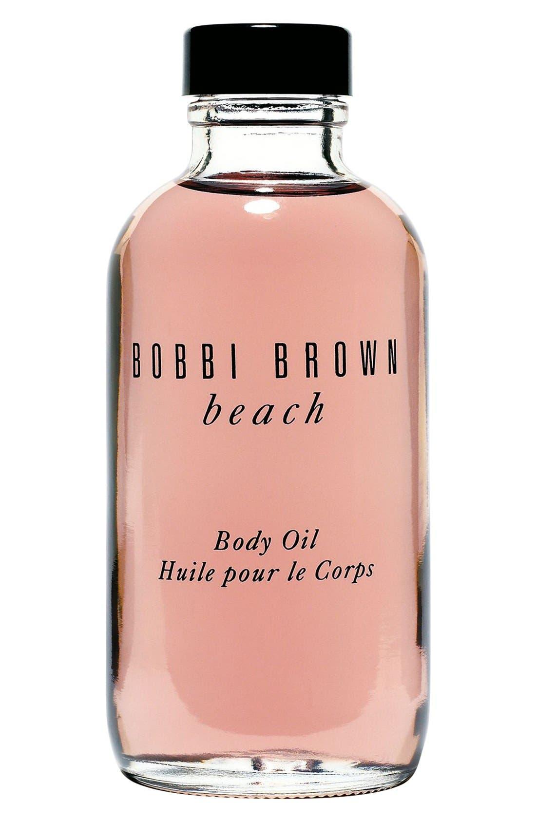BOBBI BROWN, 'beach' Body Oil, Main thumbnail 1, color, 000