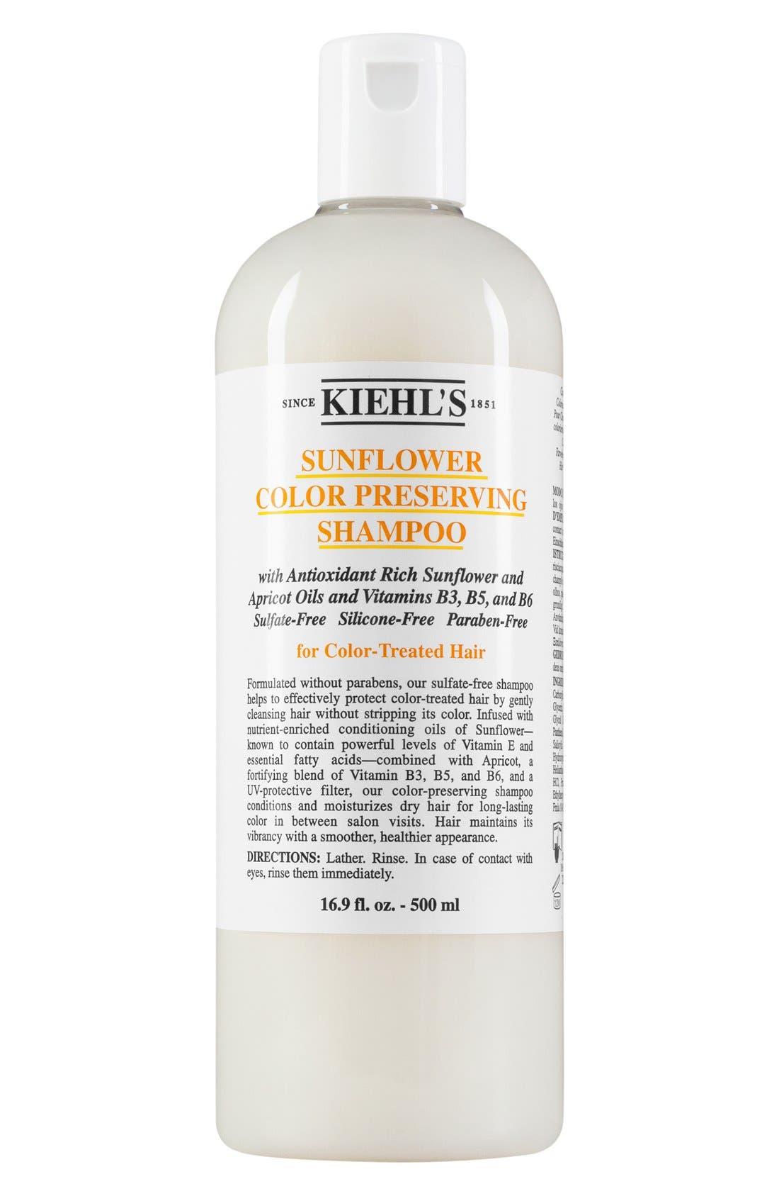 KIEHL'S SINCE 1851 Sunflower Color Preserving Shampoo, Main, color, NO COLOR