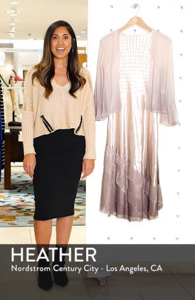 Charmeuse & Chiffon Cocktail Dress with Jacket, sales video thumbnail
