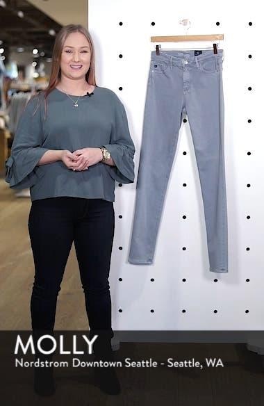 'The Prima' Cigarette Leg Skinny Jeans, sales video thumbnail