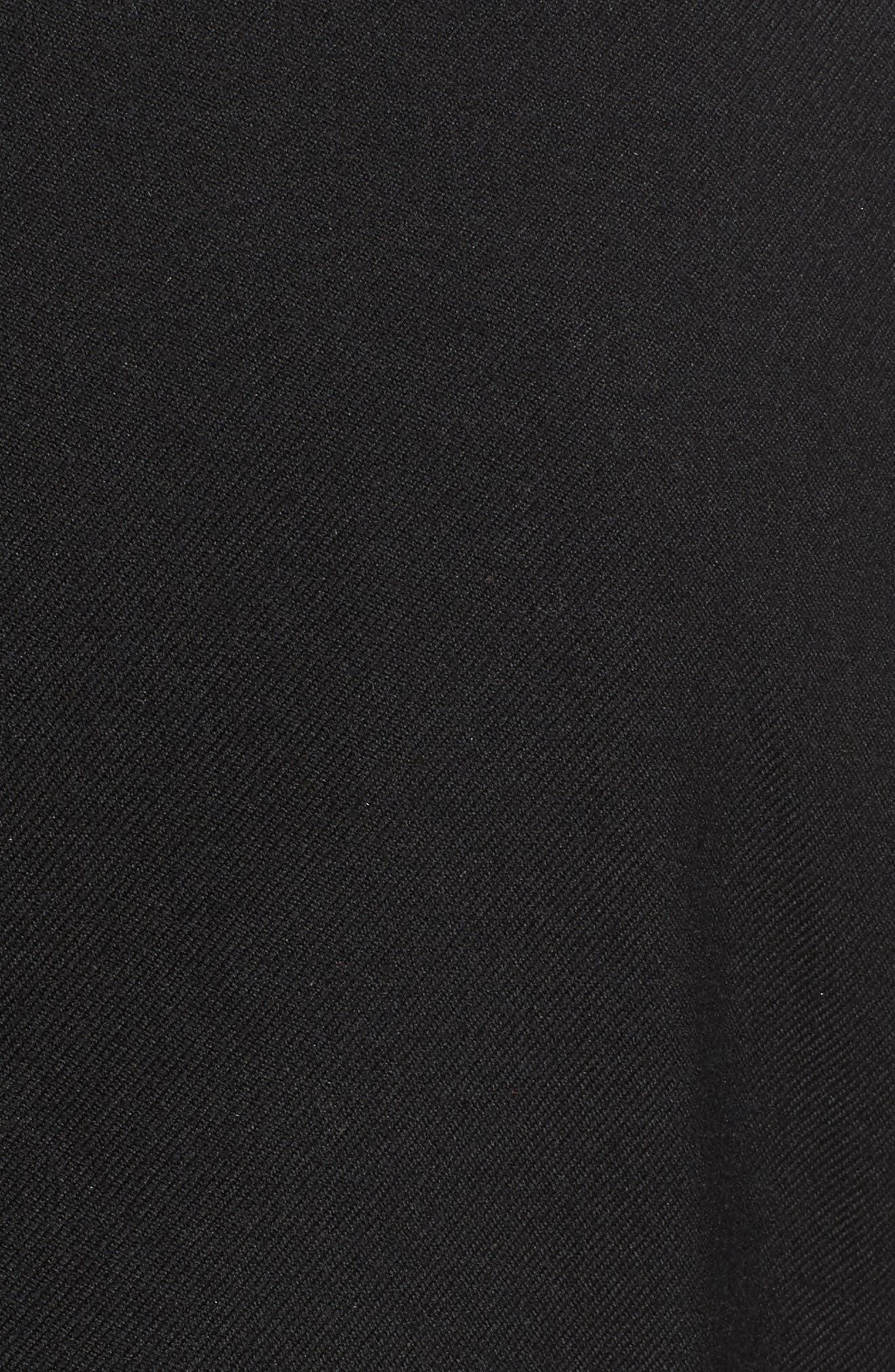 TREASURE & BOND, x Something Navy Blazer, Alternate thumbnail 6, color, 001