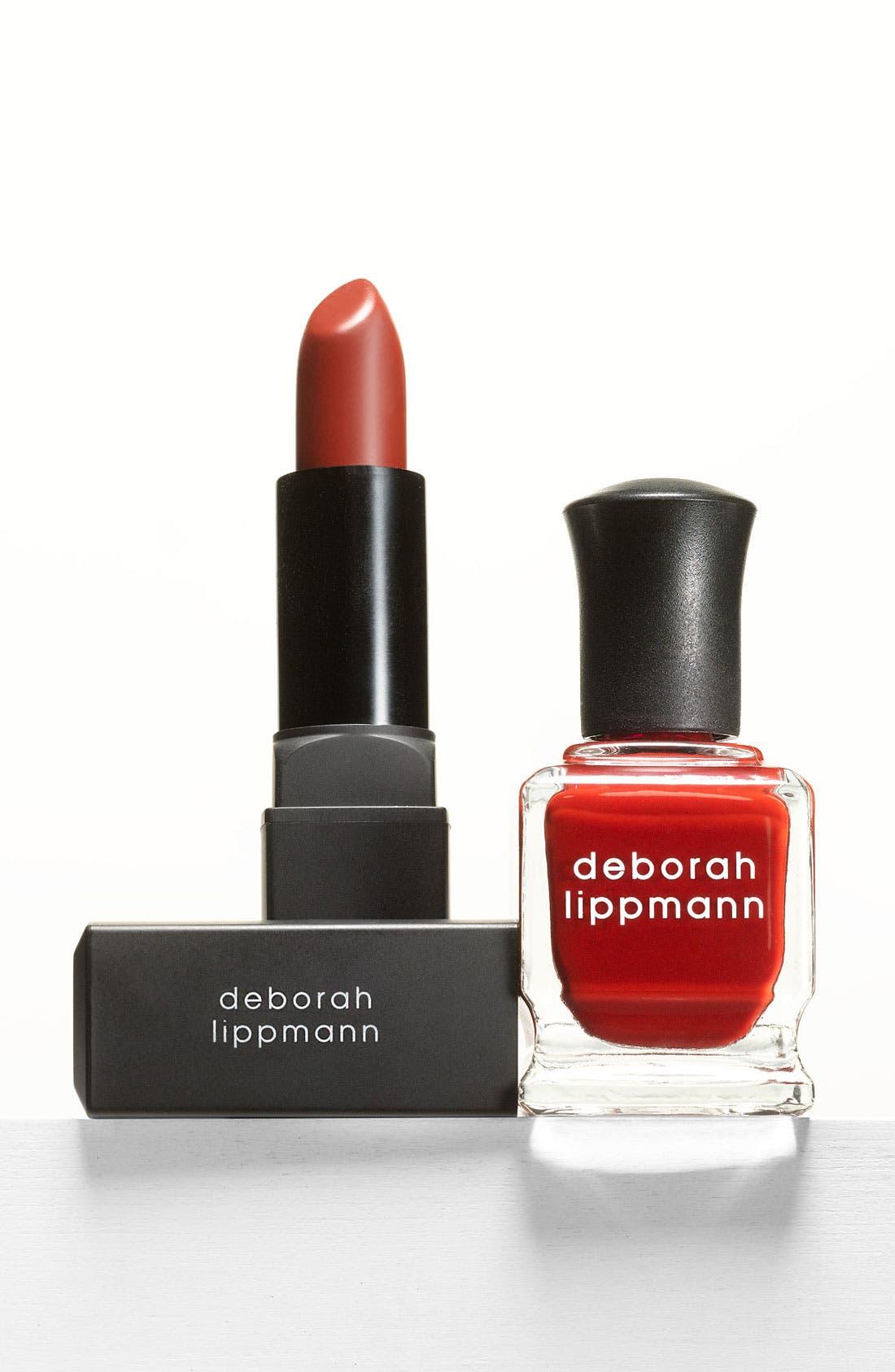 DEBORAH LIPPMANN, 'Love Notes' Lip & Nail Duet, Main thumbnail 1, color, 600