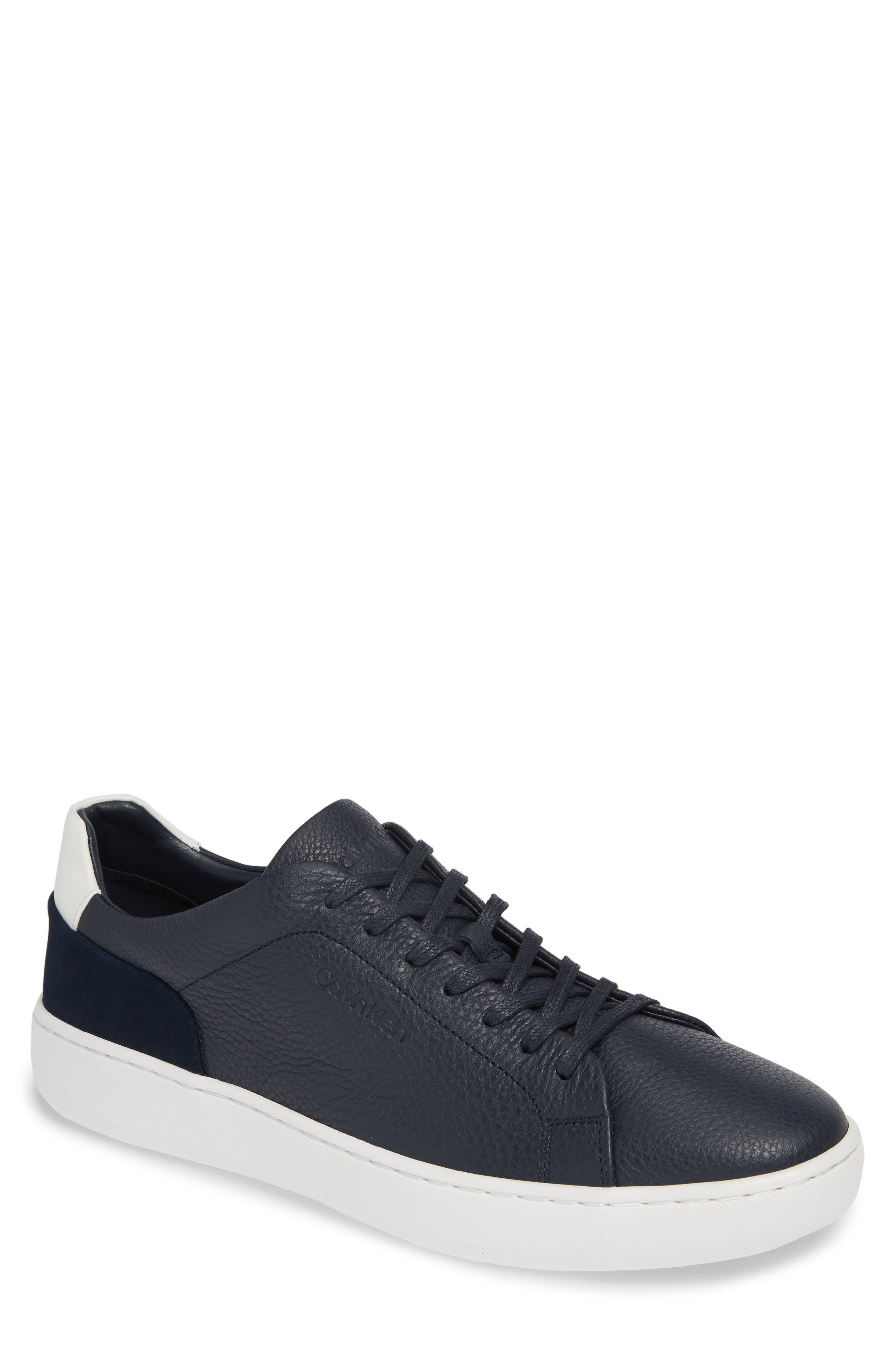 CALVIN KLEIN Fuego Sneaker, Main, color, DARK NAVY