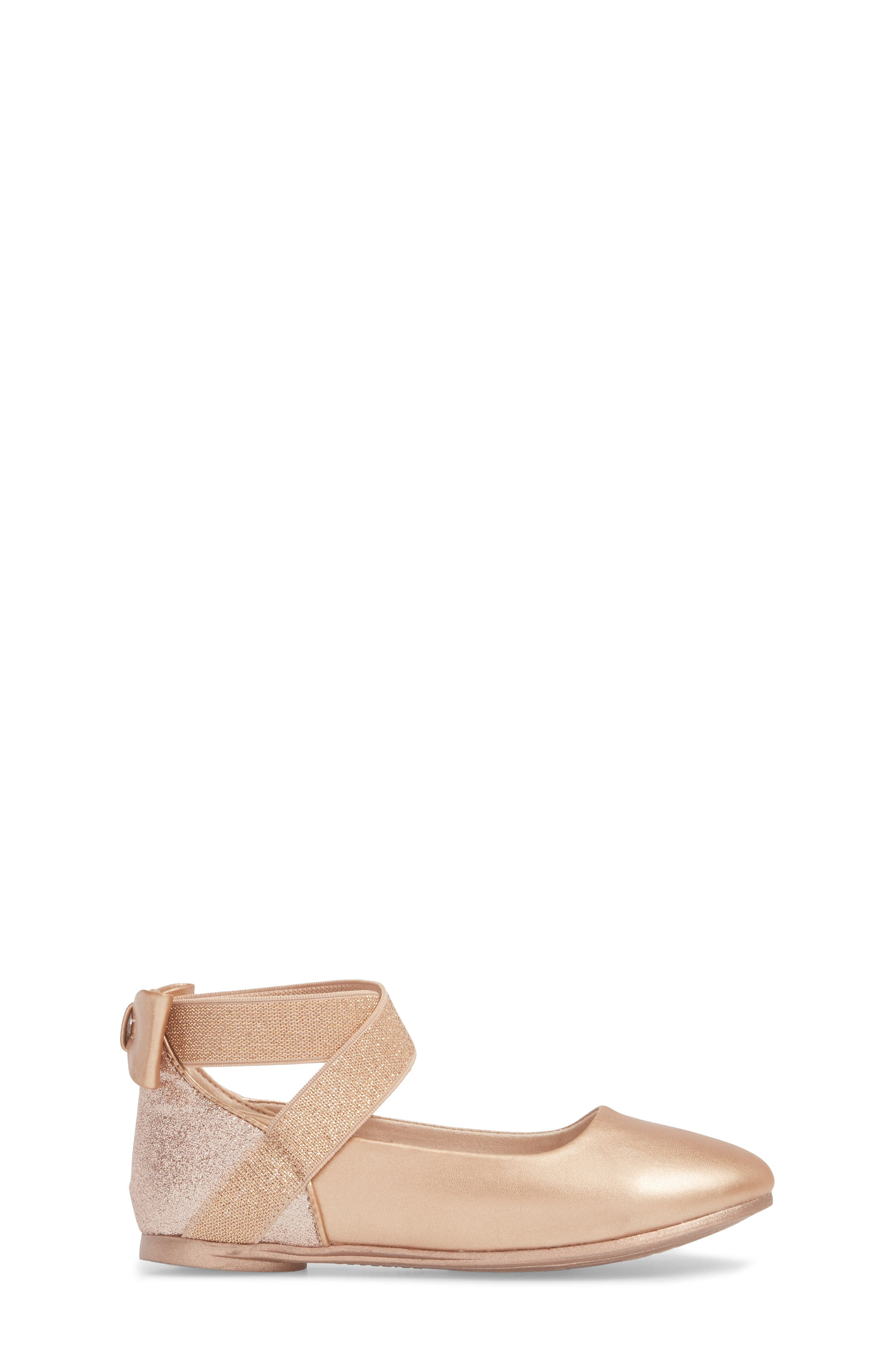 KENNETH COLE NEW YORK, Glitz Flat, Alternate thumbnail 3, color, PALE ROSE