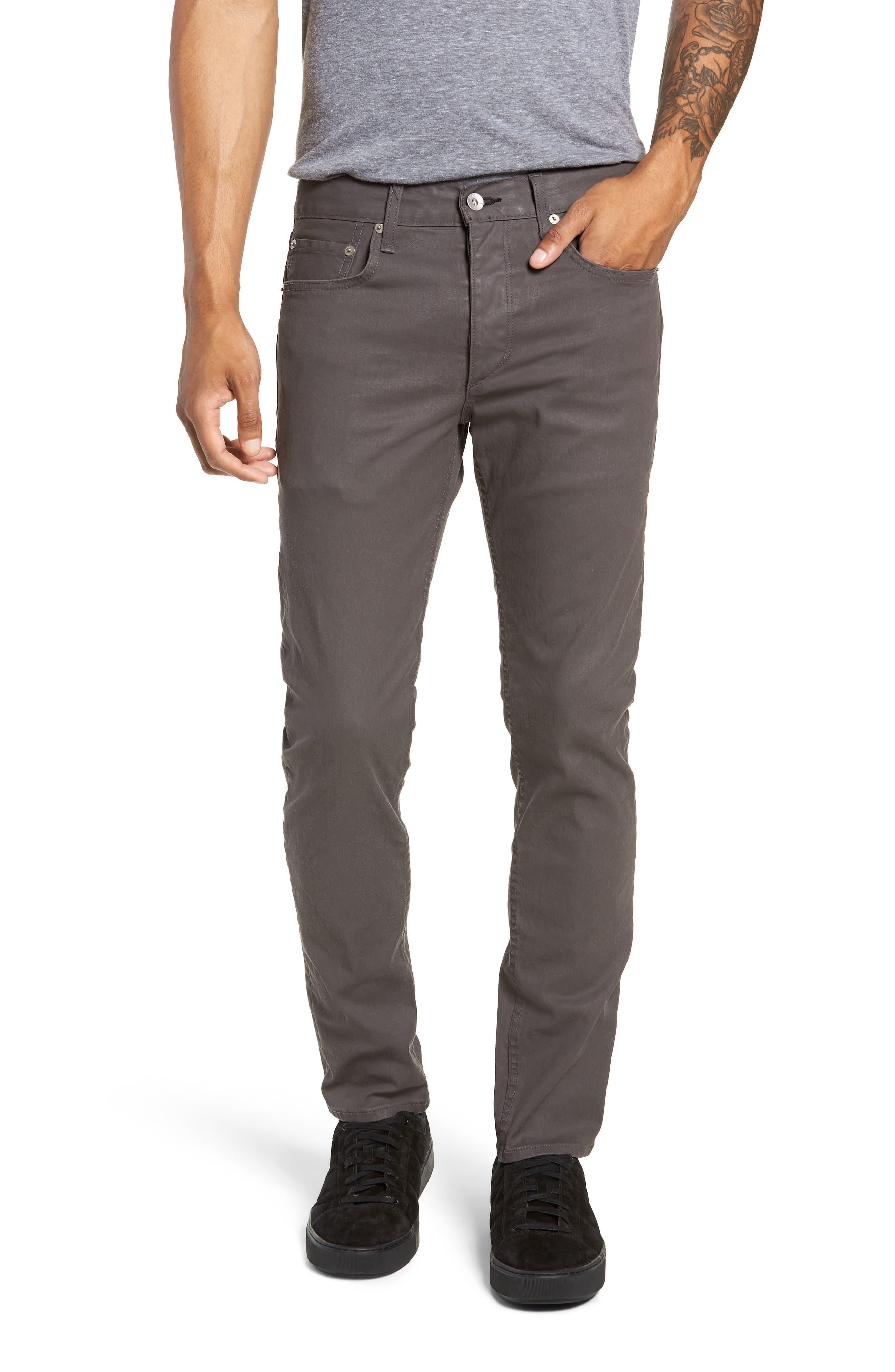 RAG & BONE, Fit 2 Slim Fit Pants, Main thumbnail 1, color, 020