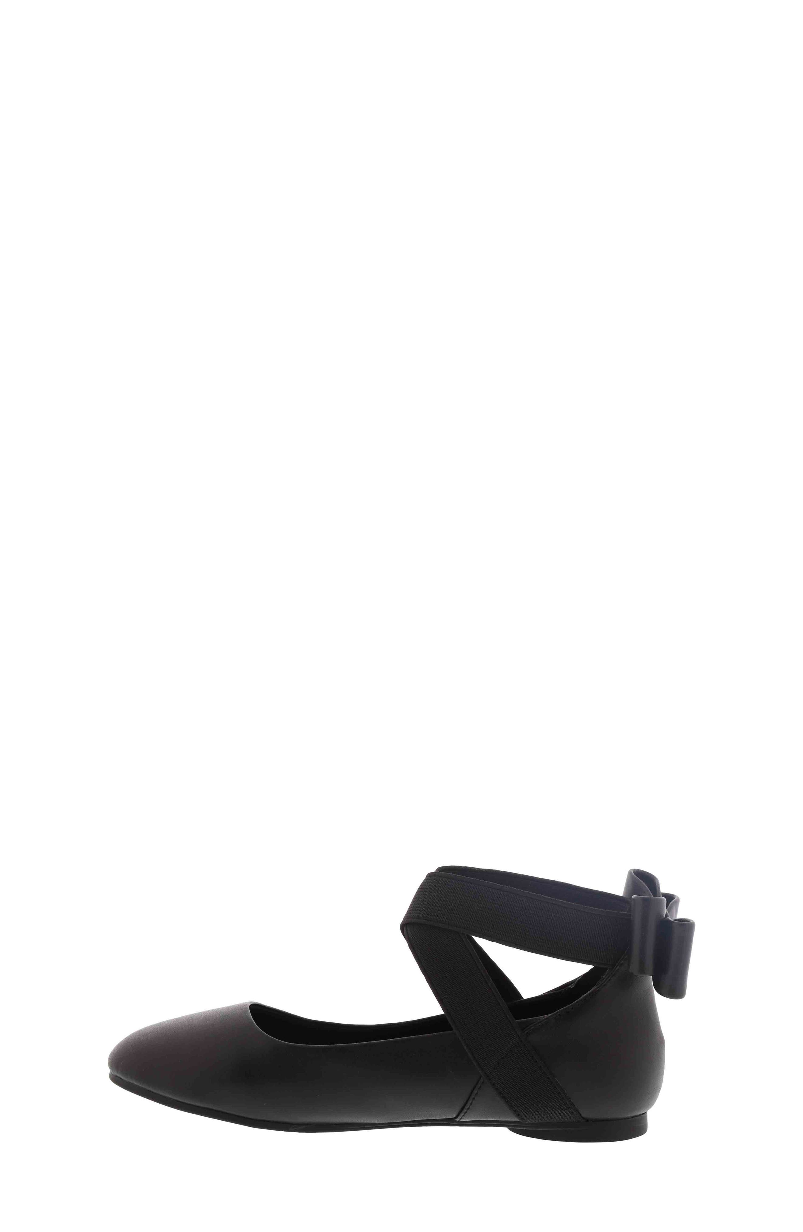 KENNETH COLE NEW YORK, Strappy Ballet Flat, Alternate thumbnail 3, color, 001