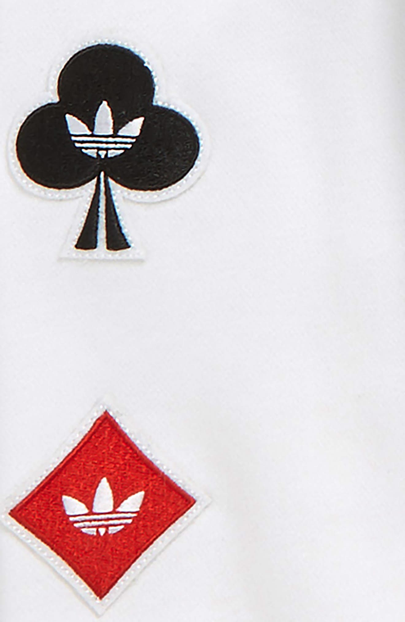 ADIDAS ORIGINALS, adidas Trefoil Hoodie, Alternate thumbnail 2, color, WHITE
