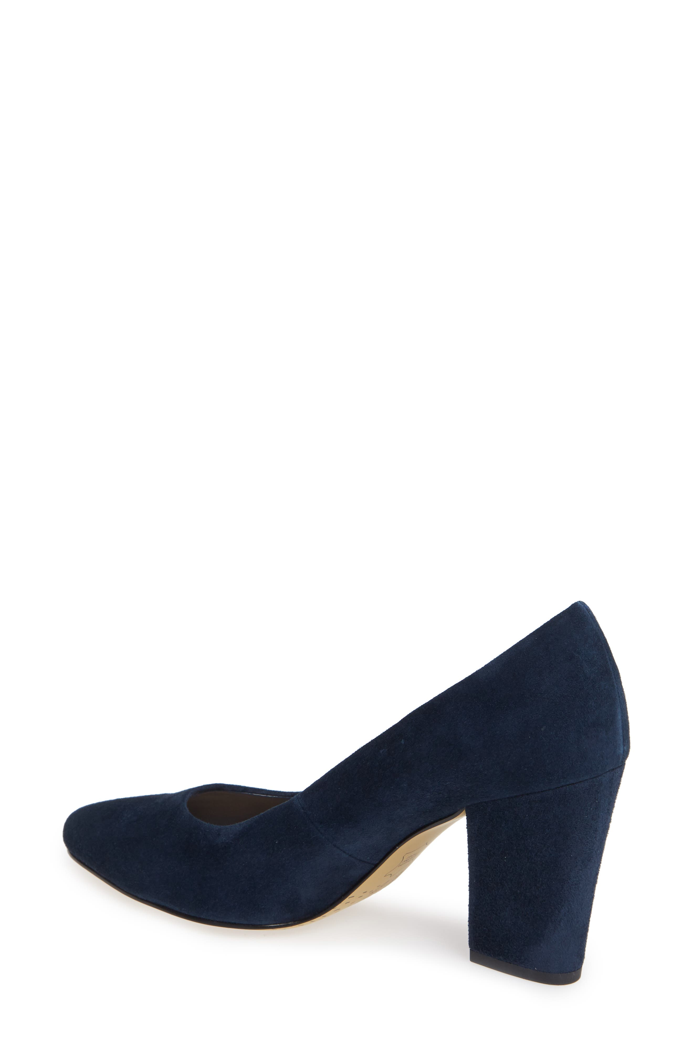 BELLA VITA, Gigi Pump, Alternate thumbnail 2, color, NAVY SUEDE