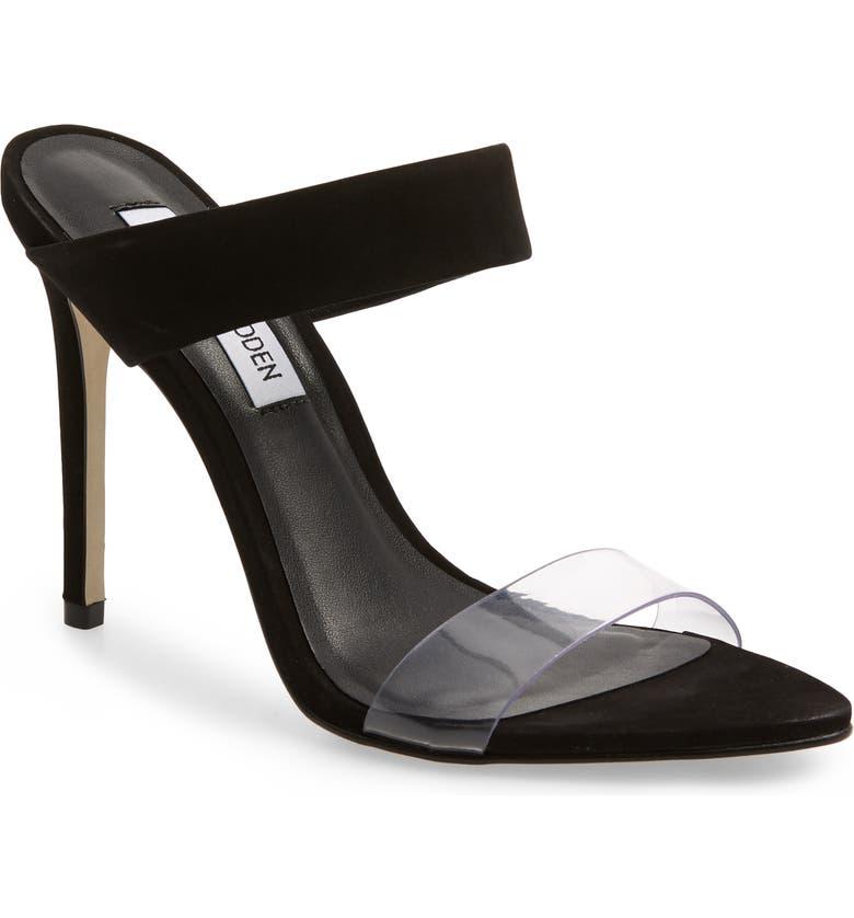 f76e74c179f Steve Madden Amaya Clear Slide Sandal (Women)