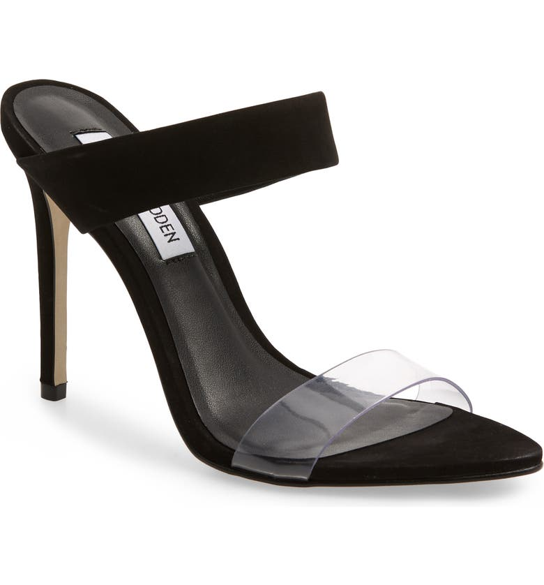 36fab2882f9 Steve Madden Amaya Clear Slide Sandal (Women)