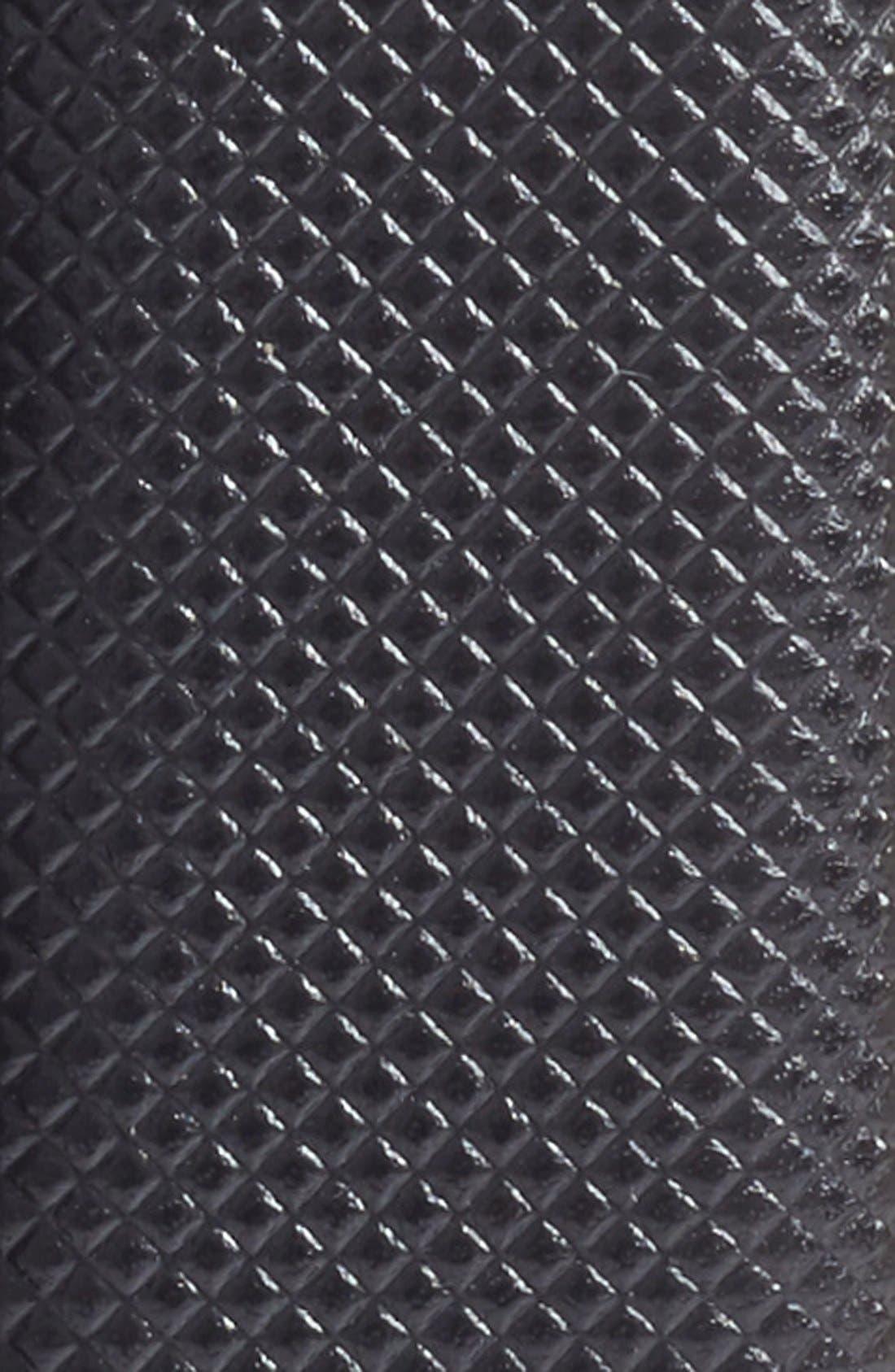 TORINO, Bulgaro Calfskin Leather Belt, Alternate thumbnail 2, color, BLACK