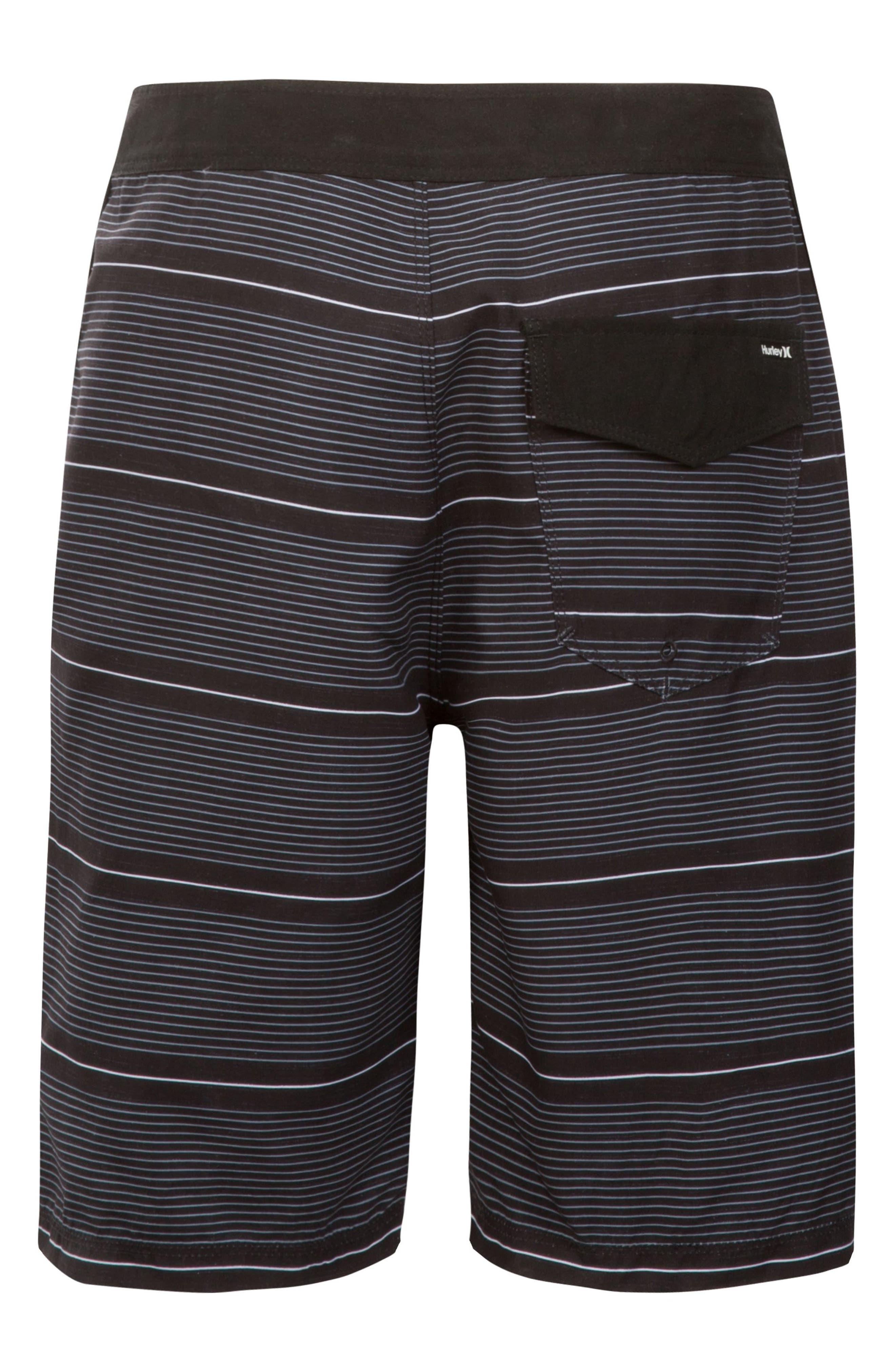 HURLEY, Shoreline Board Shorts, Alternate thumbnail 2, color, BLACK