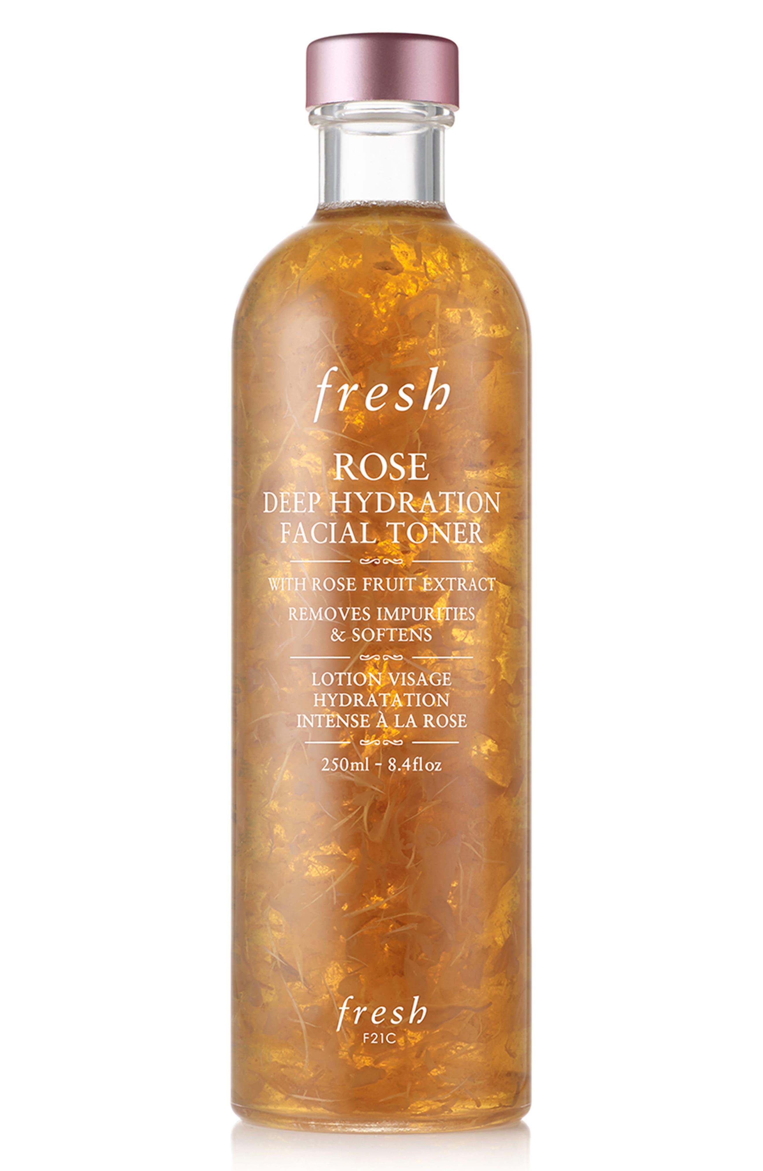 FRESH<SUP>®</SUP>, Rose Deep Hydration Facial Toner, Main thumbnail 1, color, NO COLOR