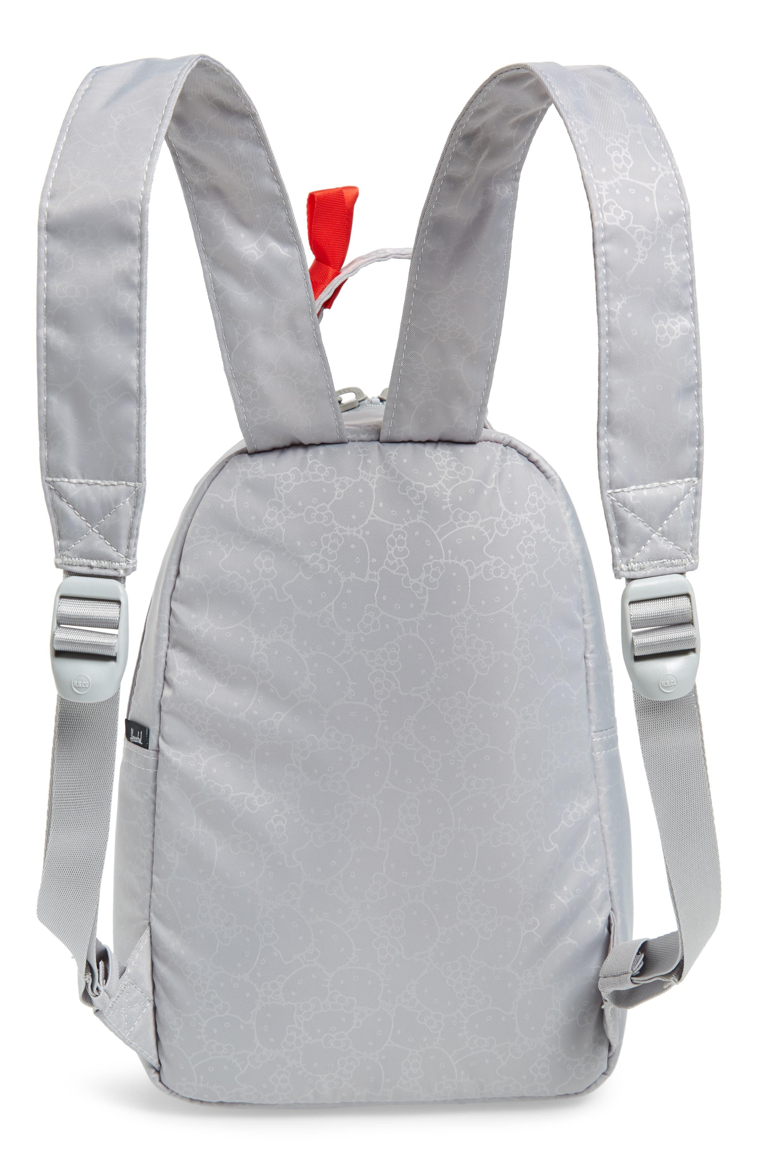HERSCHEL SUPPLY CO., x Hello Kitty Mini Nova Backpack, Alternate thumbnail 4, color, HIGHRISE