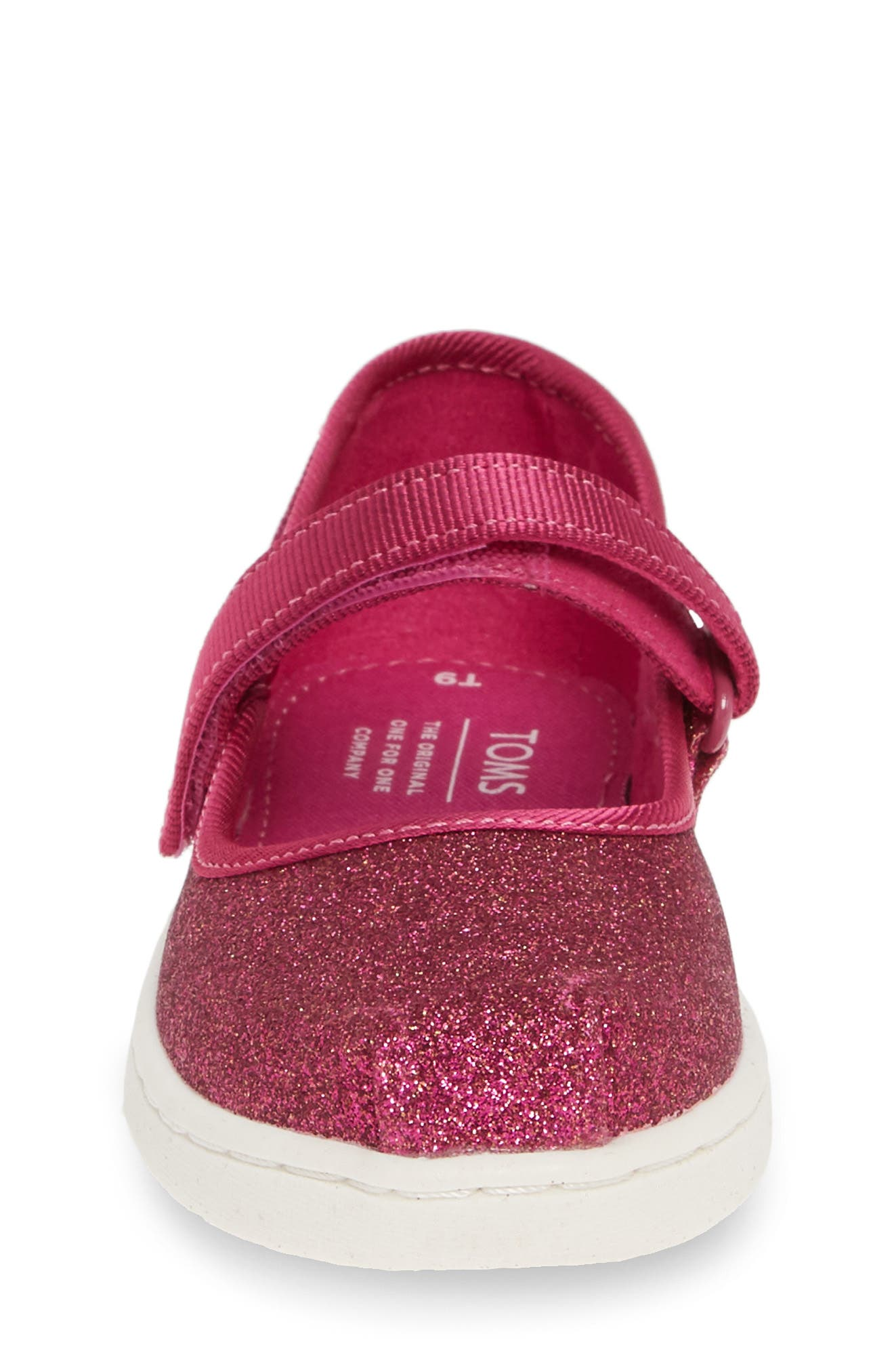 TOMS, Mary Jane Sneaker, Alternate thumbnail 4, color, PINK
