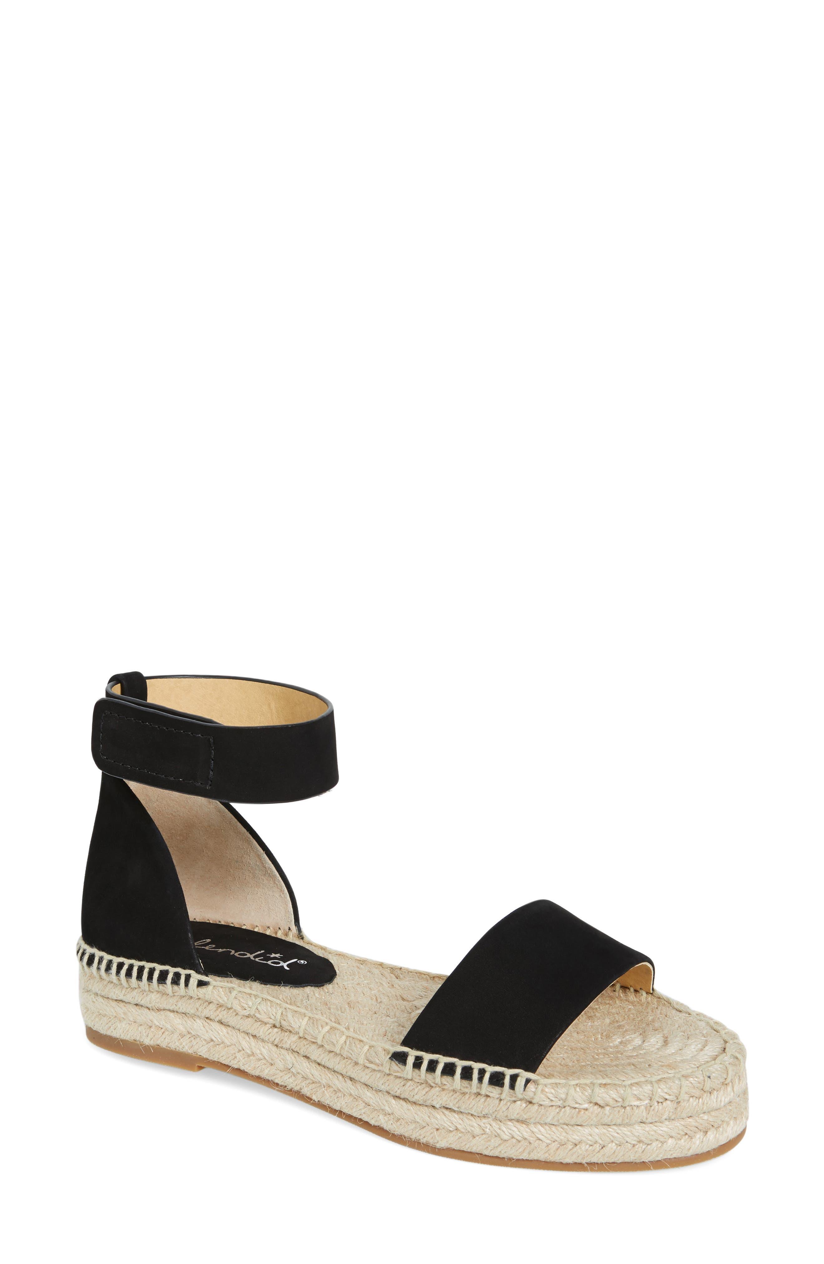 SPLENDID Jensen Platform Espadrille Sandal, Main, color, 002