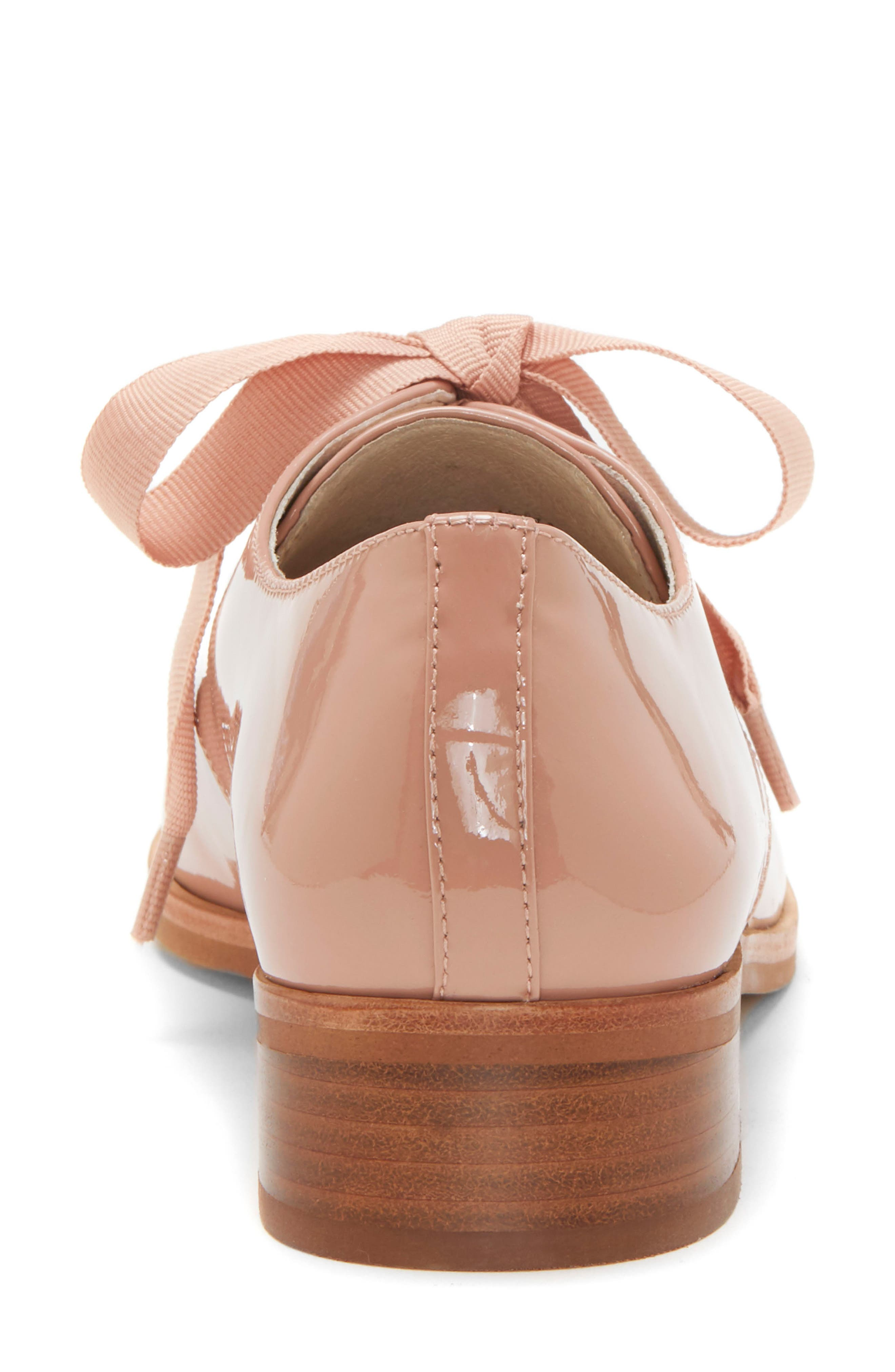LOUISE ET CIE, Adwin Almond Toe Oxford, Alternate thumbnail 7, color, FOUNDATION PATENT